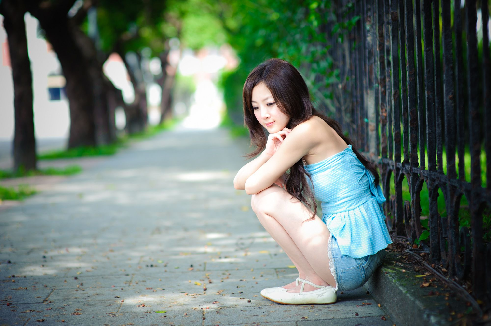 VOL.258 [台湾正妹]清纯街拍妹子:张凯洁(张允霏,果子MM)高品质写真套图(50P)