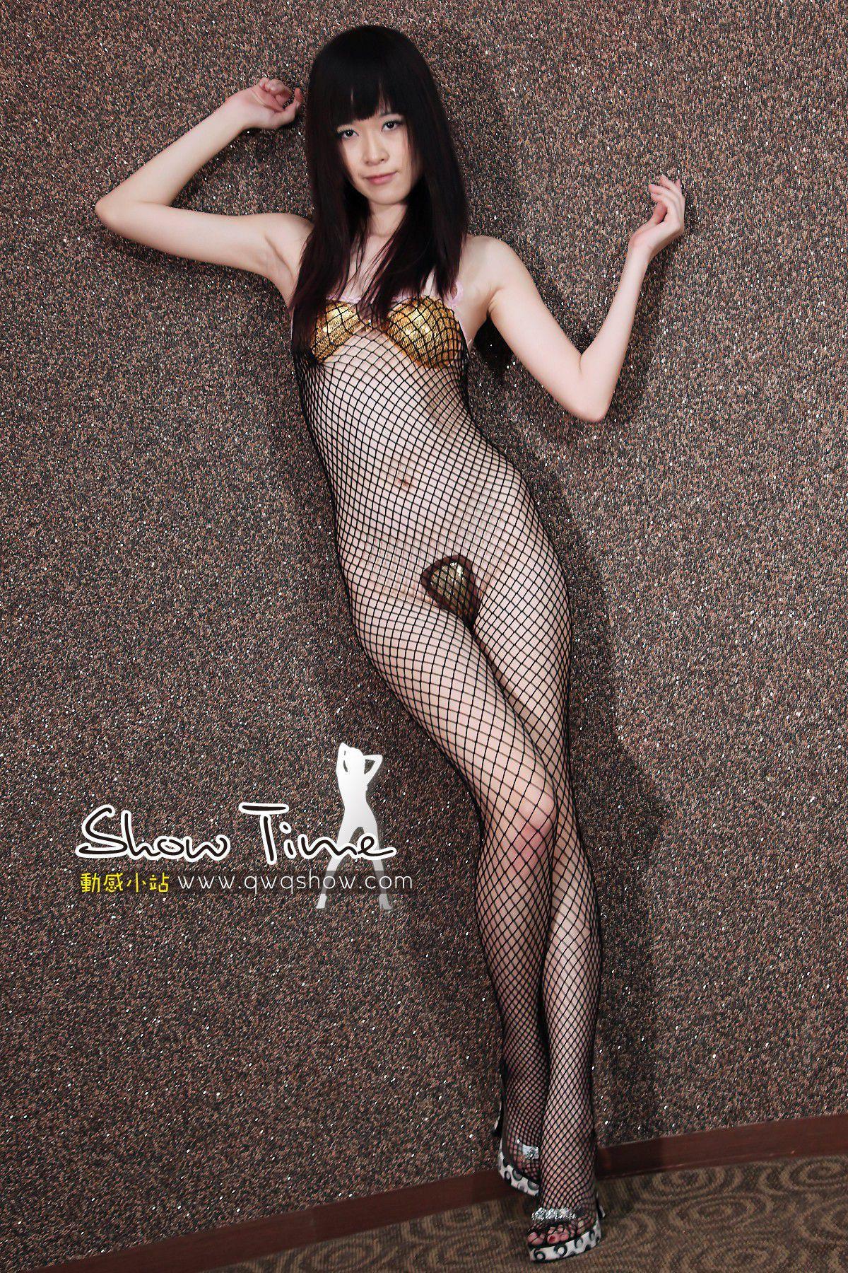 VOL.1484 [动感之星]网衣丝袜人体:动感小站娜娜(动感之星娜娜)高品质写真套图(40P)