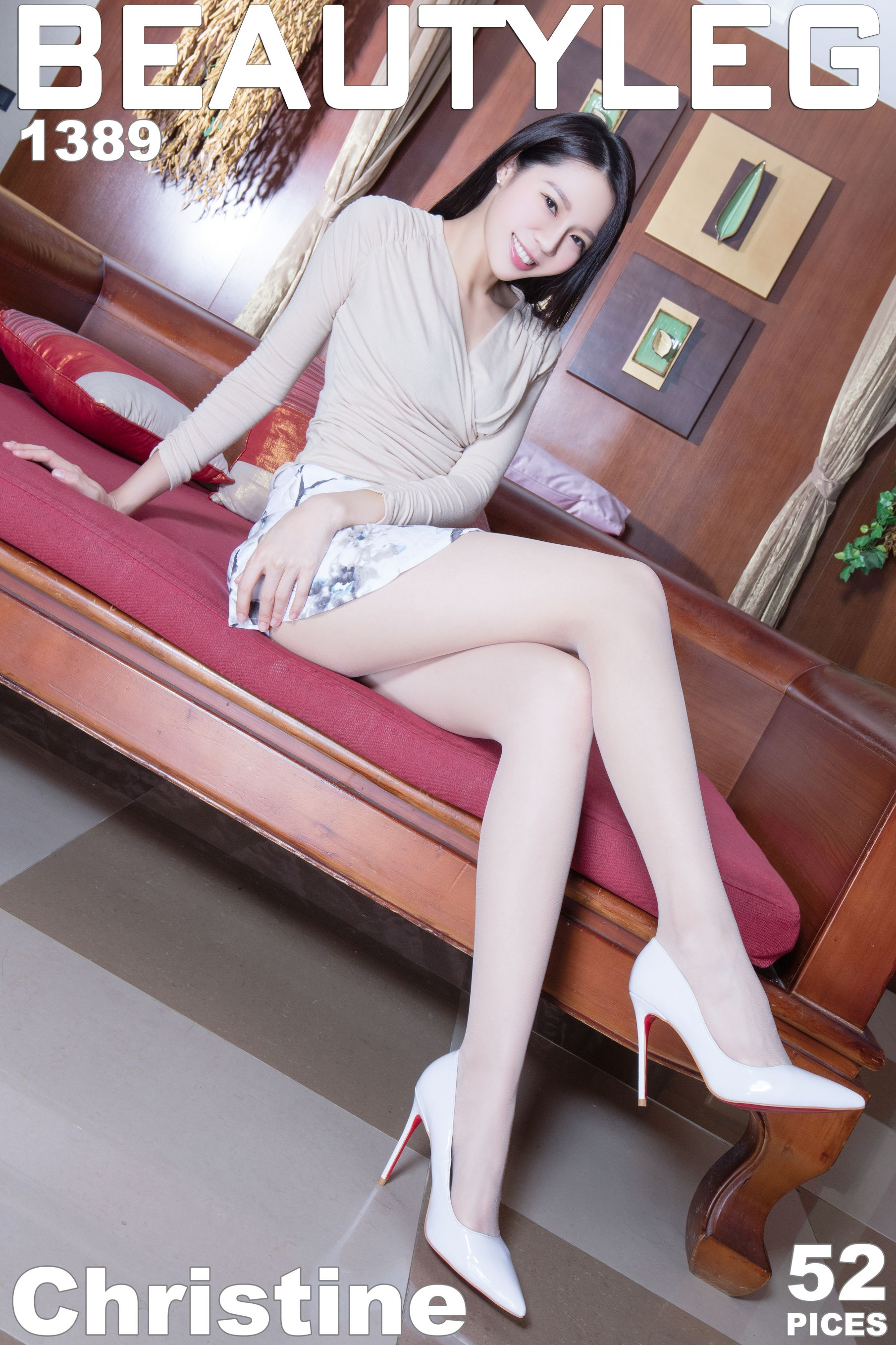 VOL.547 [Beautyleg]美腿腿模:腿模Christine高品质写真套图(46P)