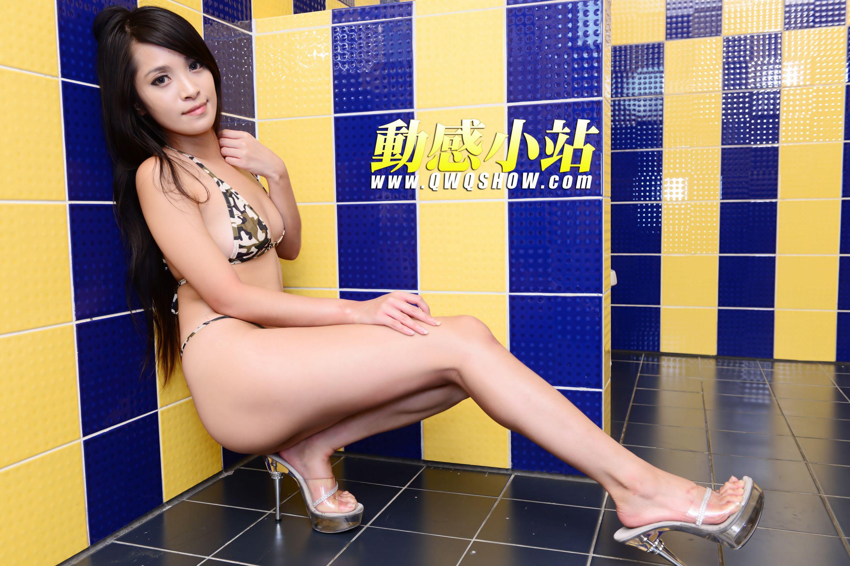VOL.1120 [动感之星]泳装丁字裤:贝琪(动感小站贝琪,动感之星贝琪)高品质写真套图(50P)