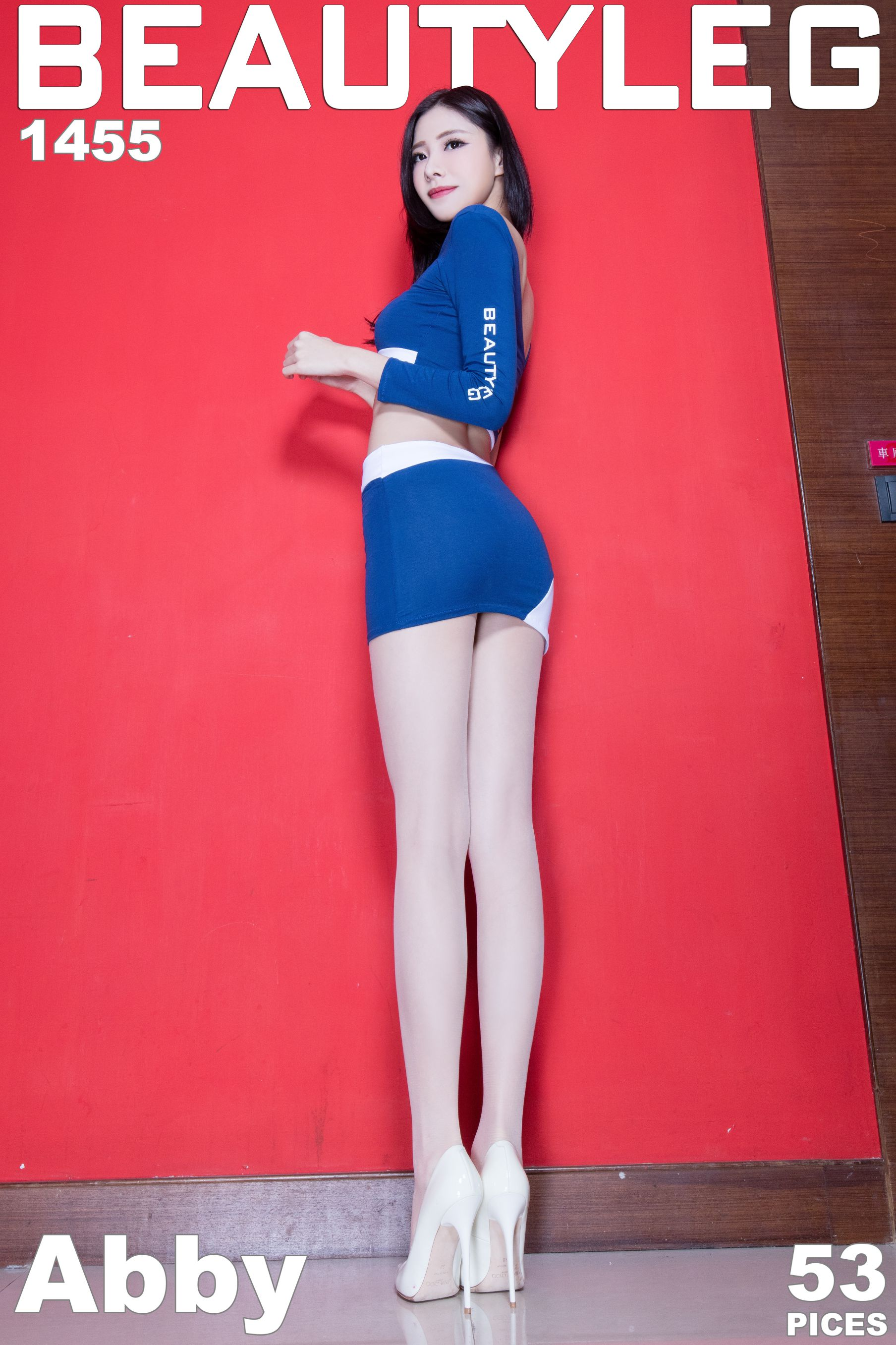 VOL.1740 [Beautyleg]制服丝袜美腿包臀裙美女:陈玉雪(腿模Abby)高品质写真套图(46P)