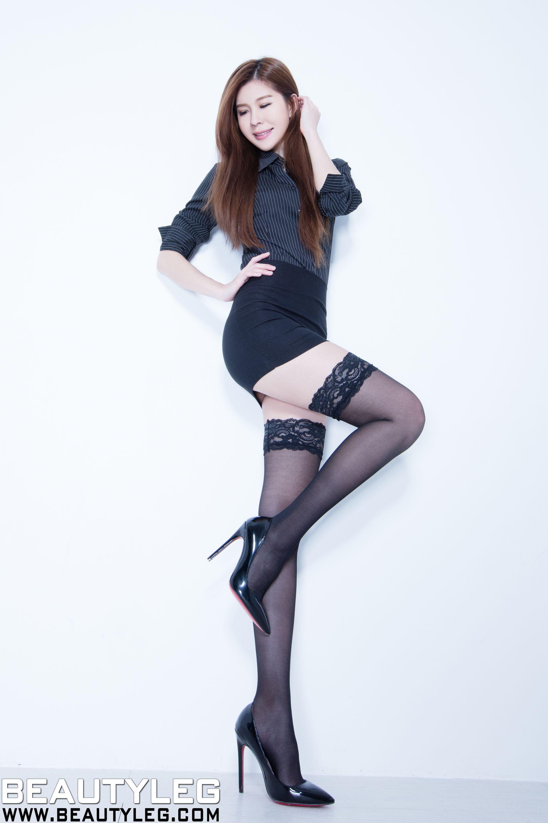 VOL.881 [Beautyleg]长筒袜丝袜美腿:腿模Sarah高品质写真套图(44P)