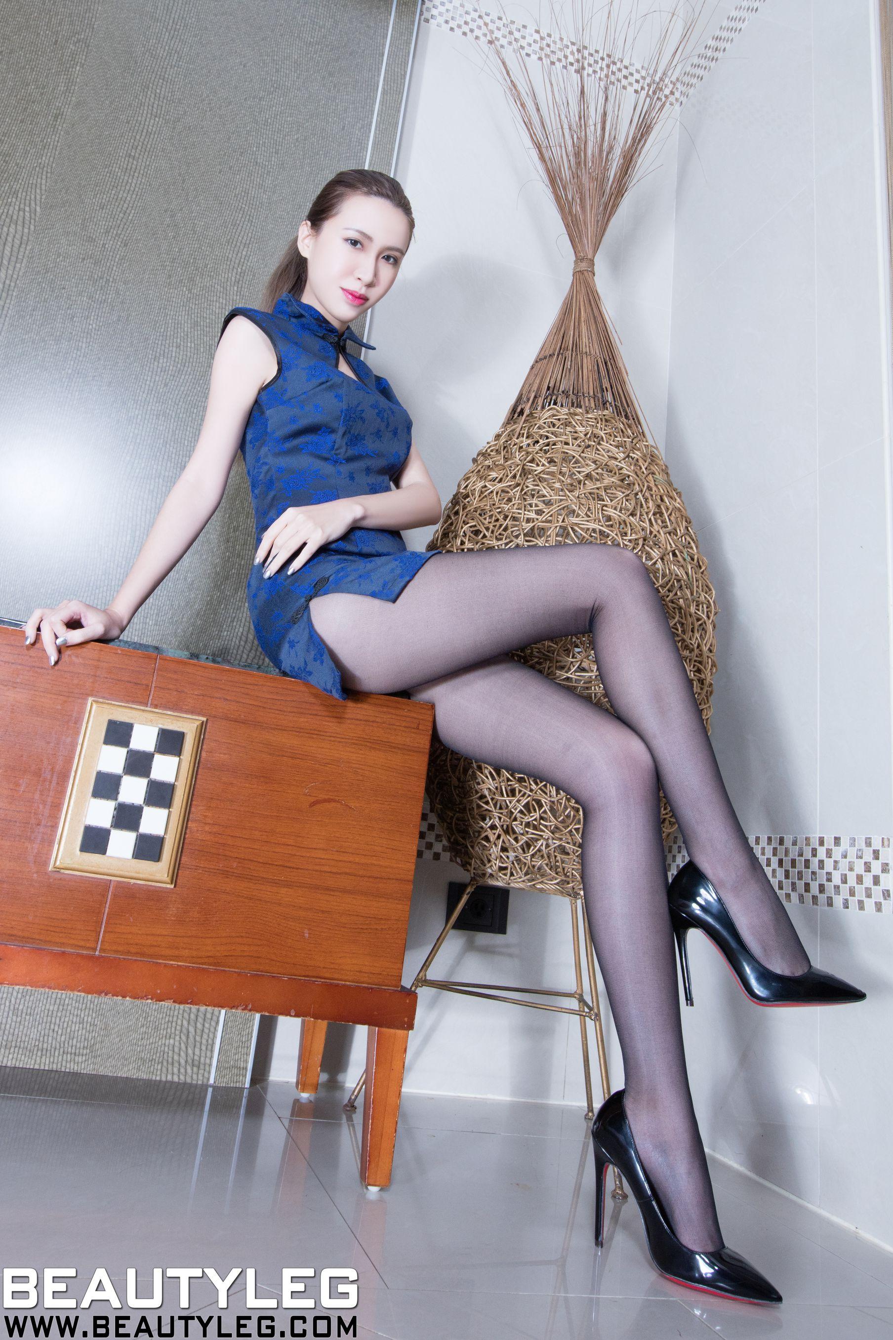 VOL.1398 [Beautyleg]美腿情趣丝袜:崔多朵(崔德蓉,腿模Stephy)高品质写真套图(43P)