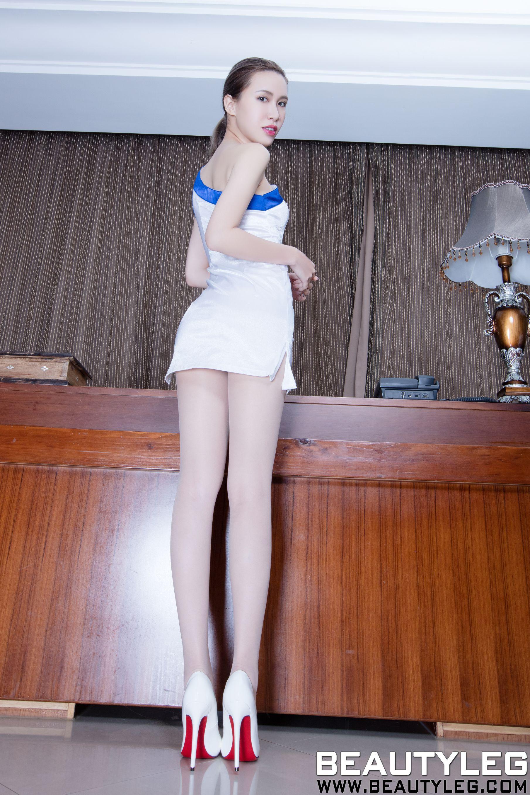 VOL.1628 [Beautyleg]美腿:崔多朵(崔德蓉,腿模Stephy)高品质写真套图(54P)