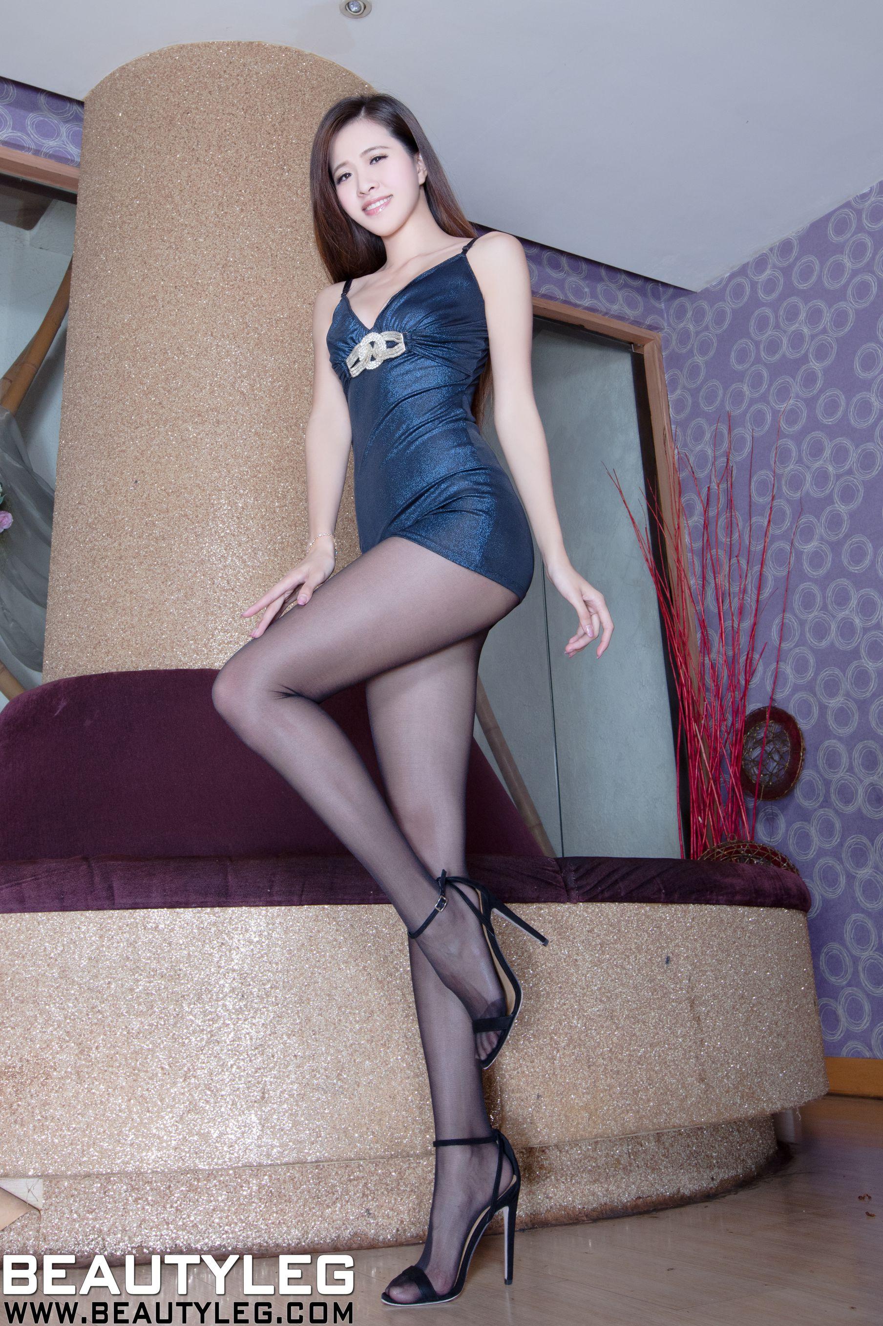VOL.496 [Beautyleg]美腿黑丝:张欣慈(腿模Olivia)高品质写真套图(46P)