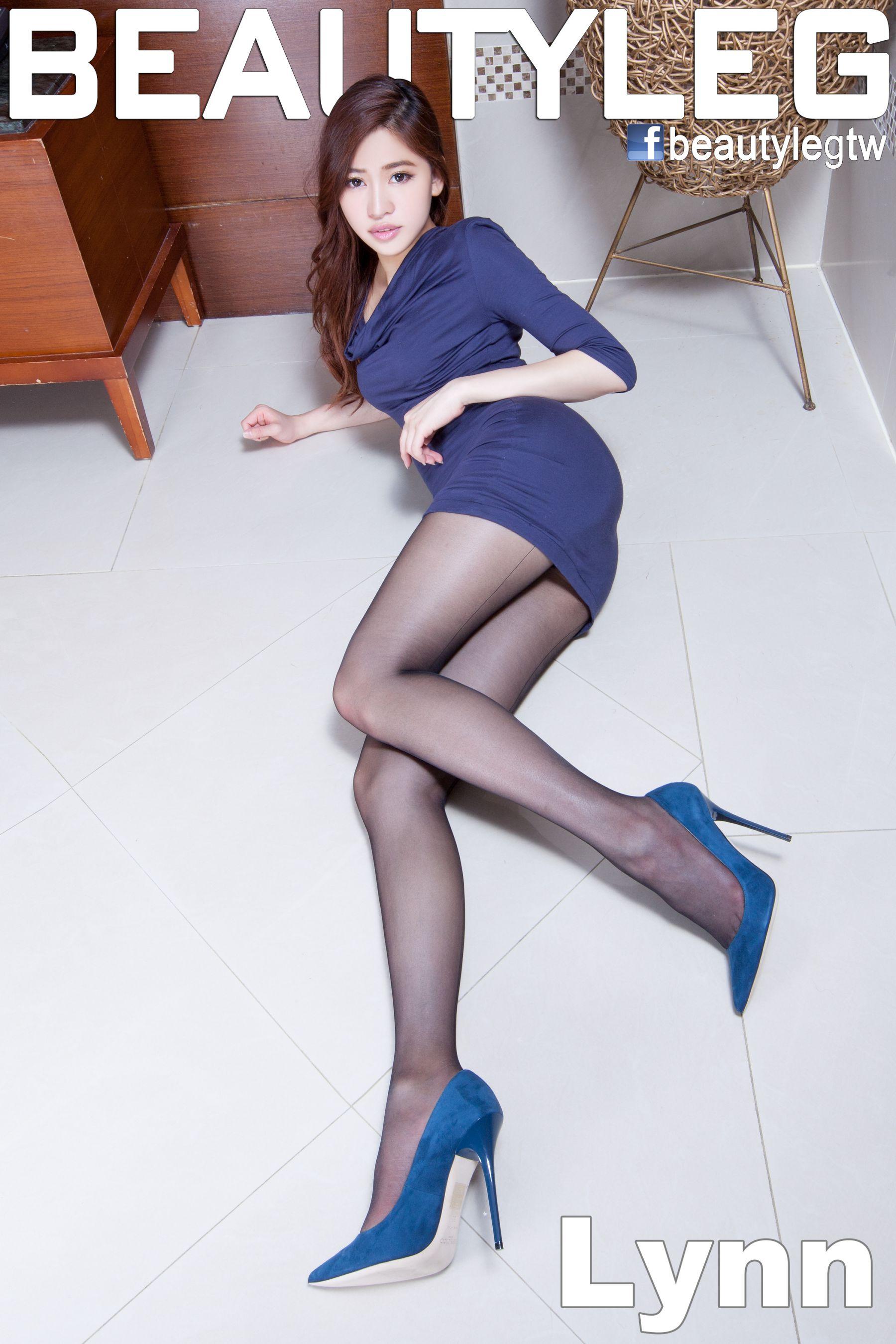 VOL.137 [Beautyleg]美腿黑丝制服:林昱(腿模Lynn)高品质写真套图(56P)