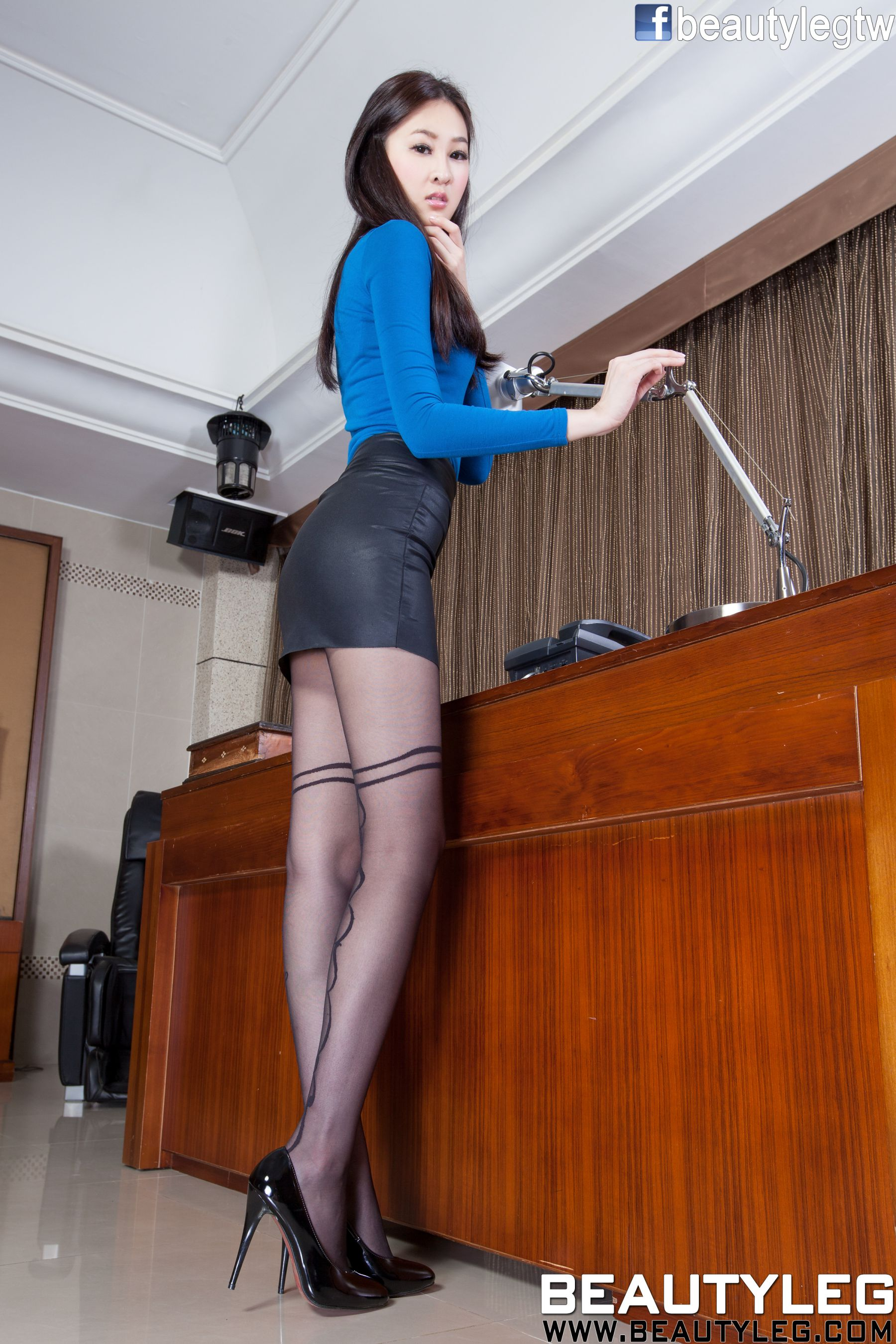 VOL.188 [Beautyleg]美腿黑丝:腿模Lilian高品质写真套图(62P)