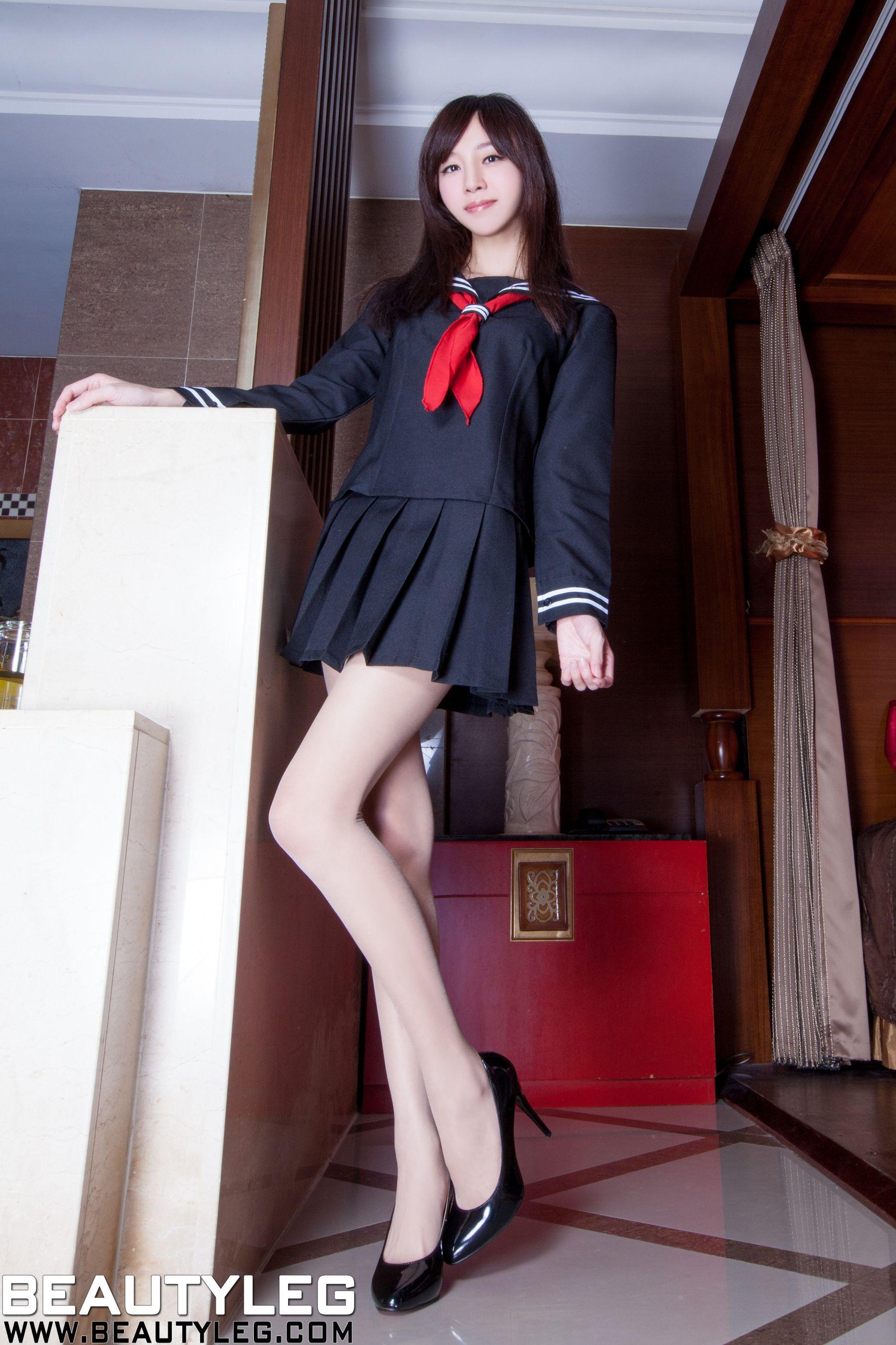 VOL.1866 [Beautyleg]校服美腿水手服:林千如(腿模Anita)高品质写真套图(64P)