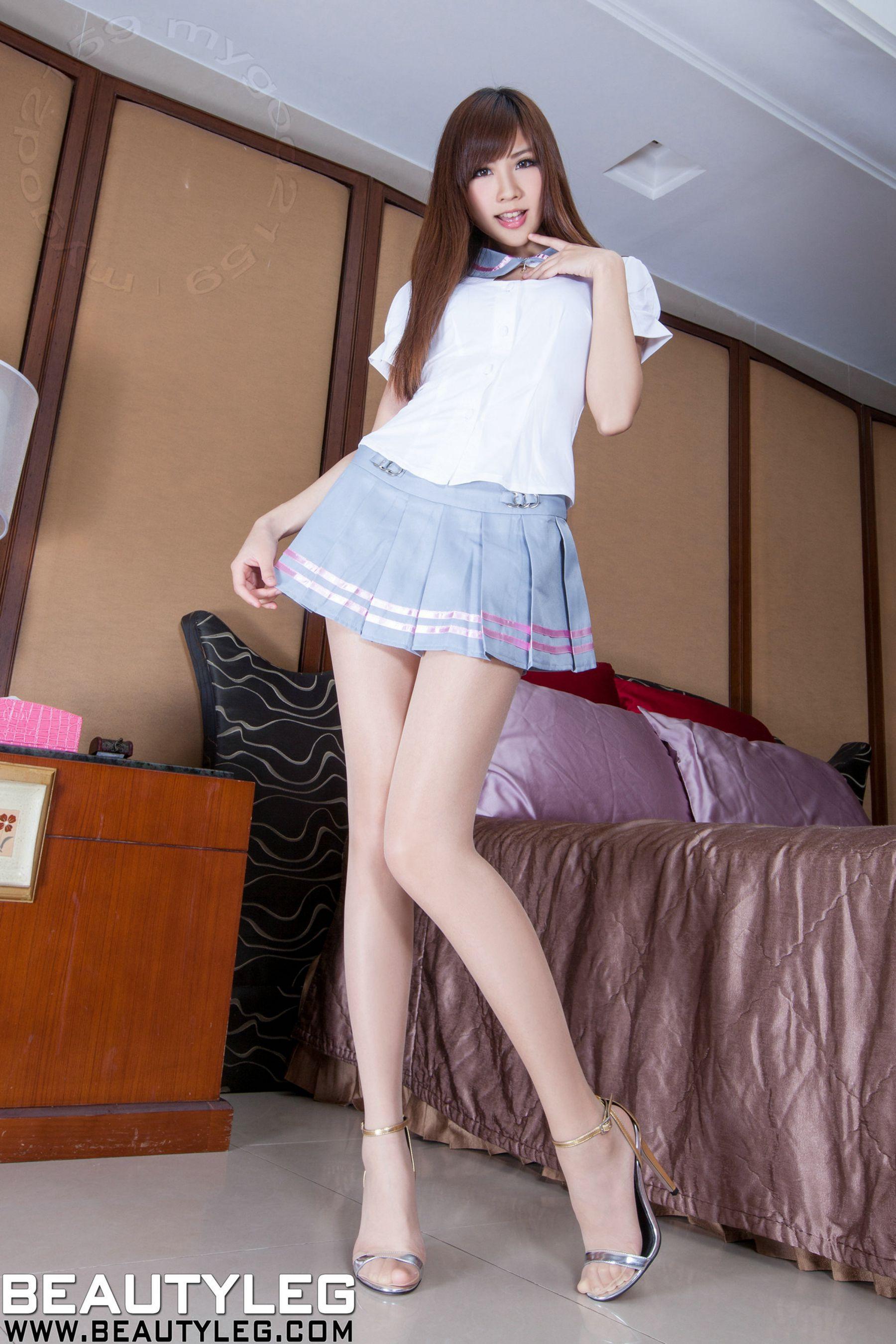 VOL.856 [Beautyleg]长腿美女:张雅筑(腿模Chu,张小筑)高品质写真套图(52P)