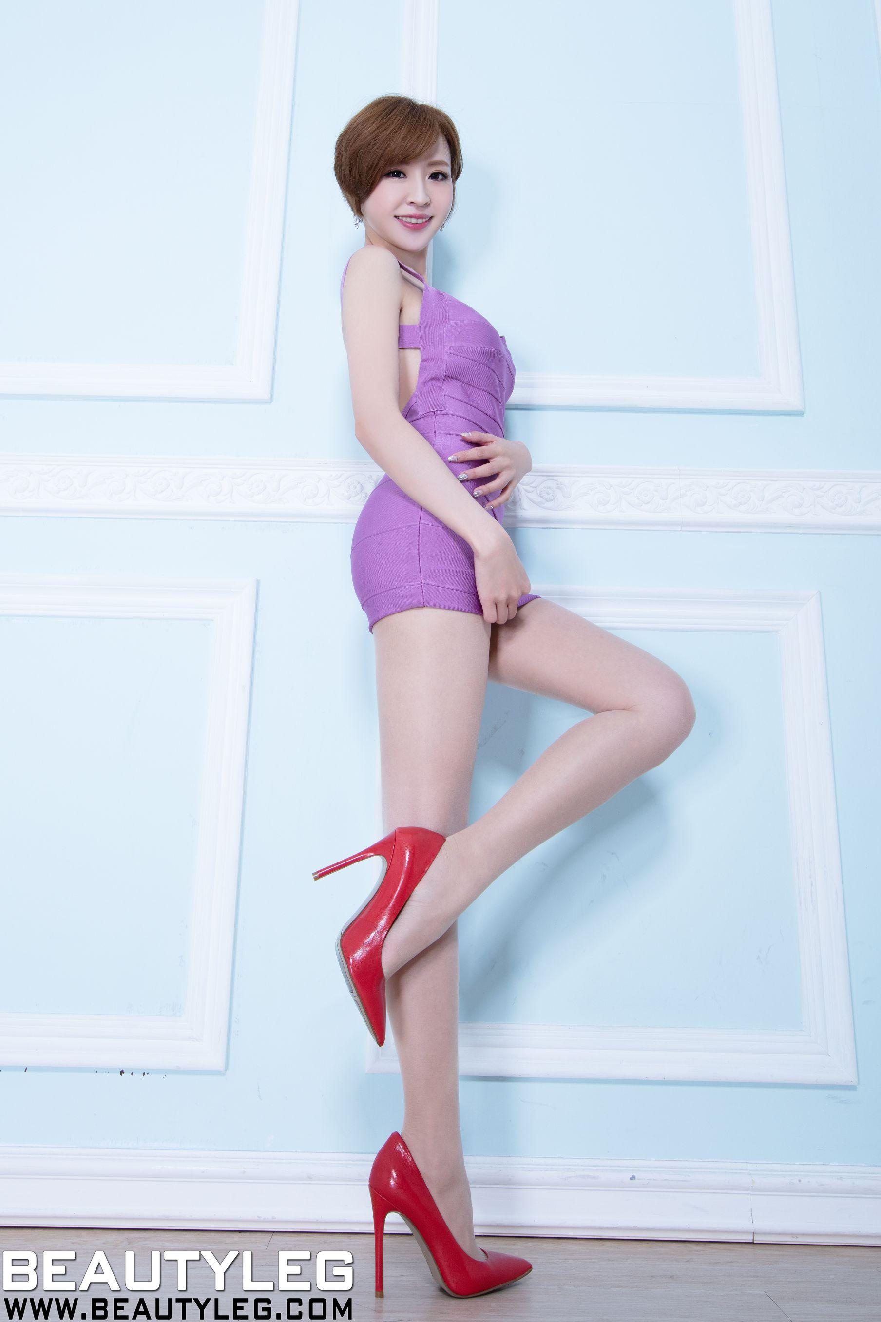 VOL.937 [Beautyleg]短发美腿:倪千凌(腿模Lucy,陈佳筠)高品质写真套图(50P)