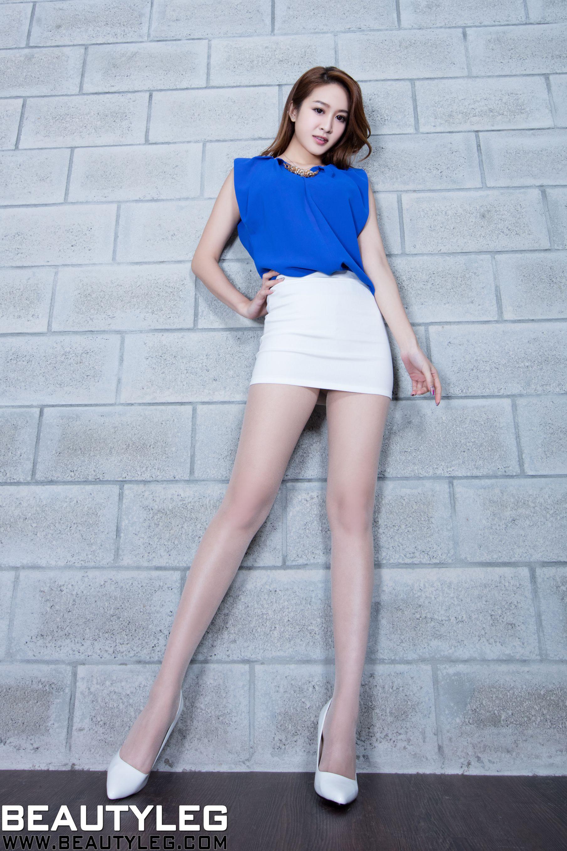 VOL.1840 [Beautyleg]美腿情趣皮衣美女:康凯乐(腿模Kaylar)高品质写真套图(45P)