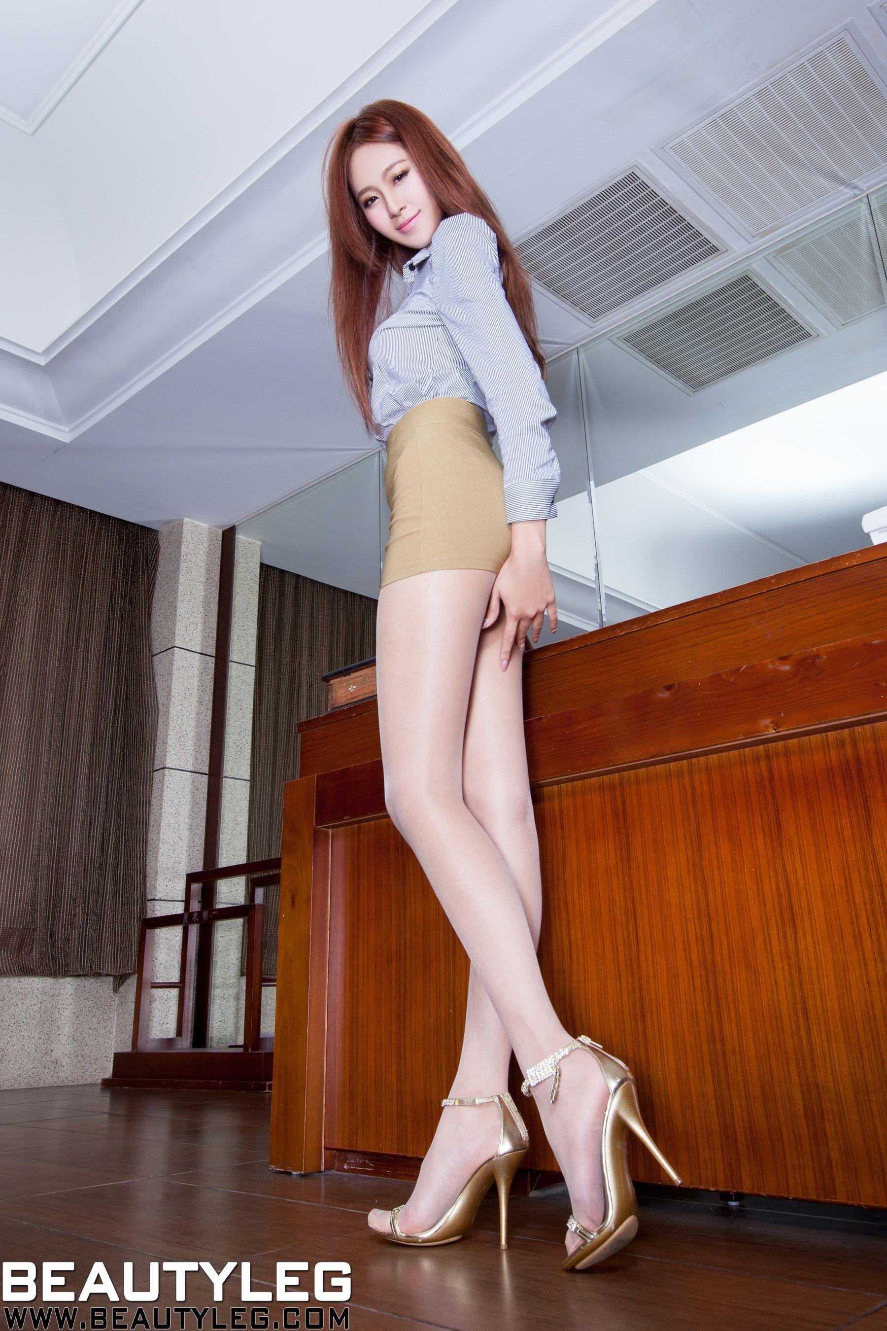 VOL.605 [Beautyleg]美腿高跟凉鞋:Winnie小雪(庄咏惠,庄温妮,腿模Winnie)高品质写真套图(43P)