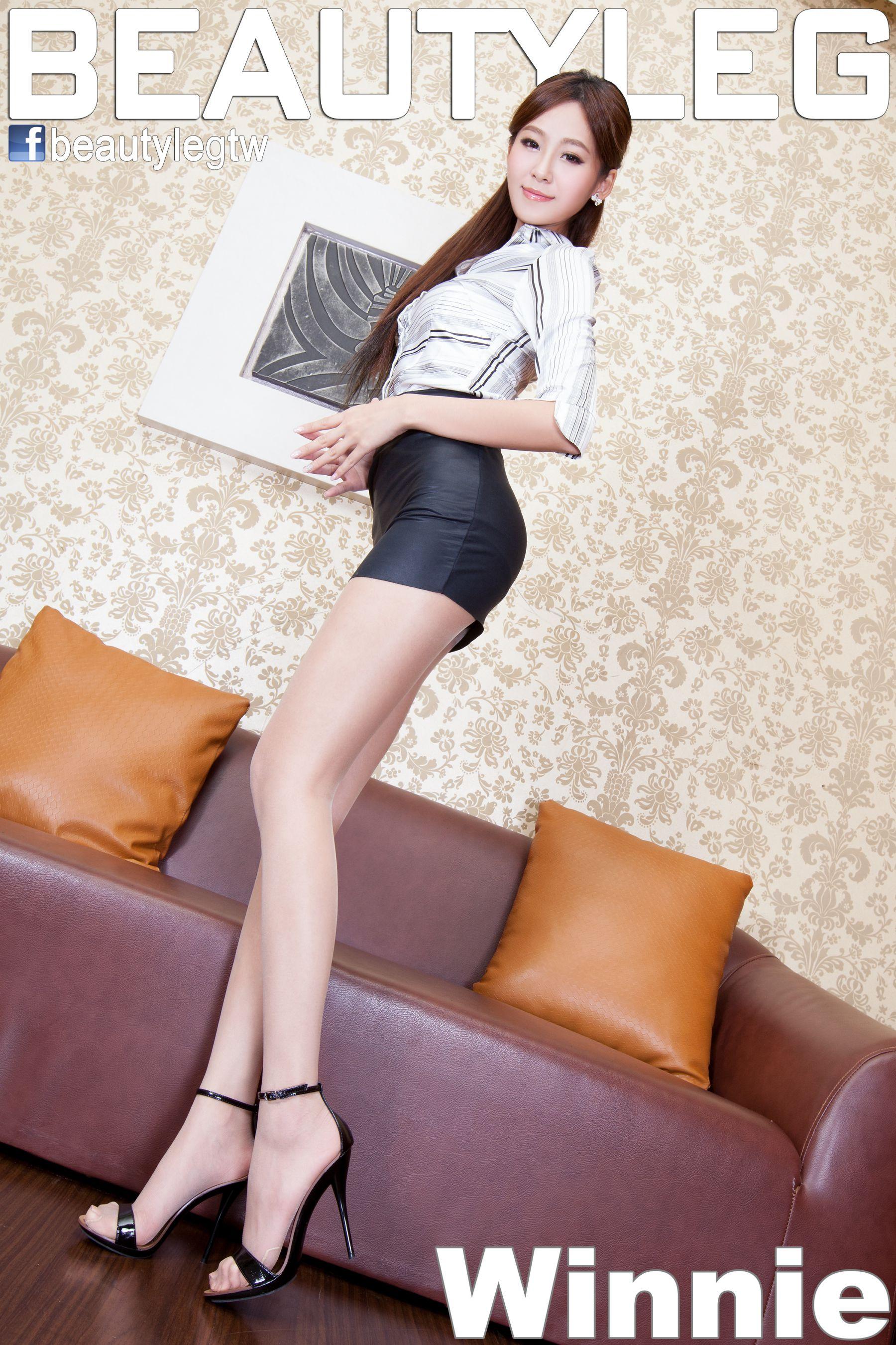 VOL.1128 [Beautyleg]长腿美女:Winnie小雪(庄咏惠,庄温妮,腿模Winnie)高品质写真套图(51P)