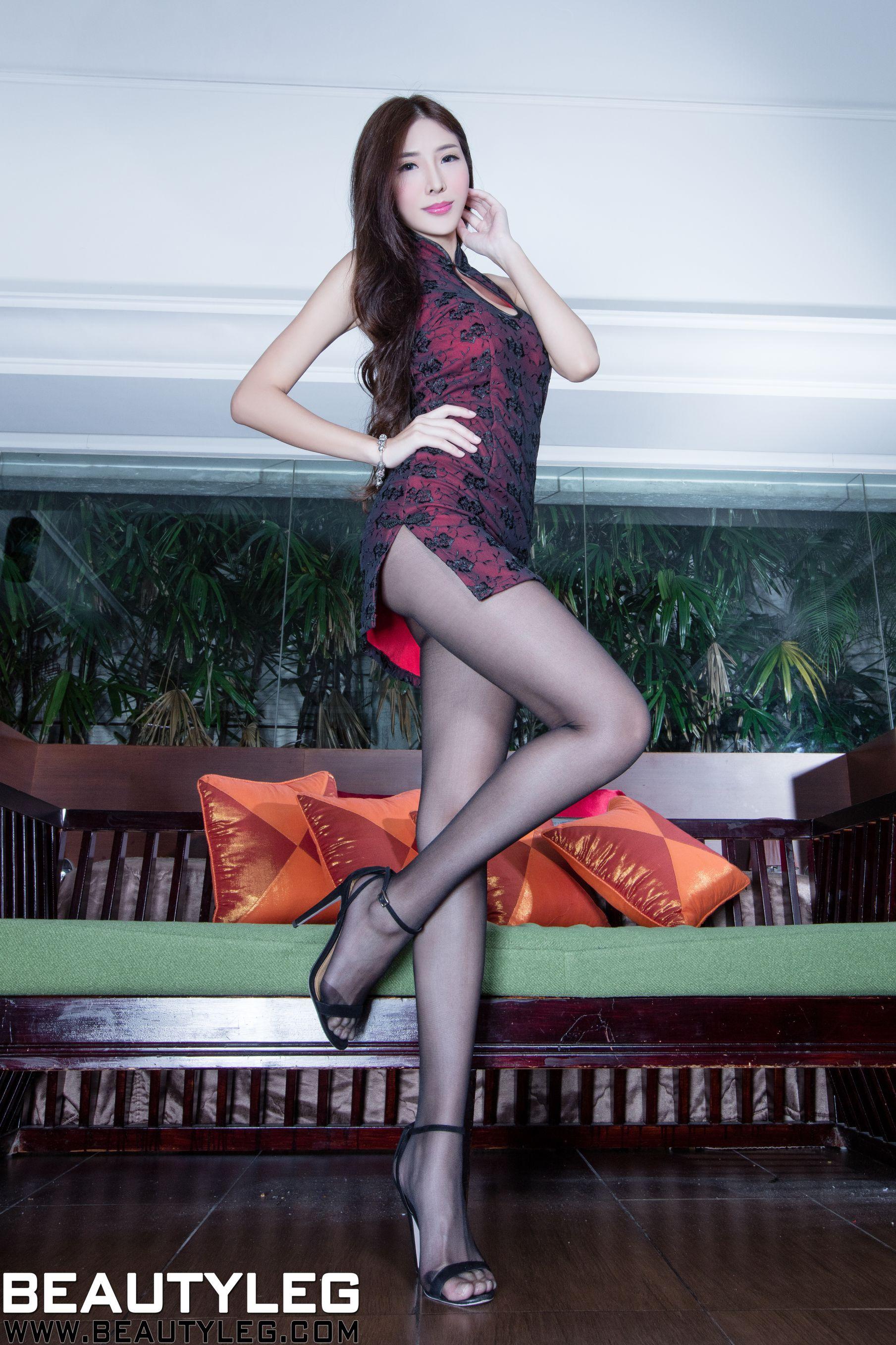 VOL.315 [Beautyleg]高跟凉鞋长腿美女:李小星(Beautyleg腿模Xin)高品质写真套图(48P)