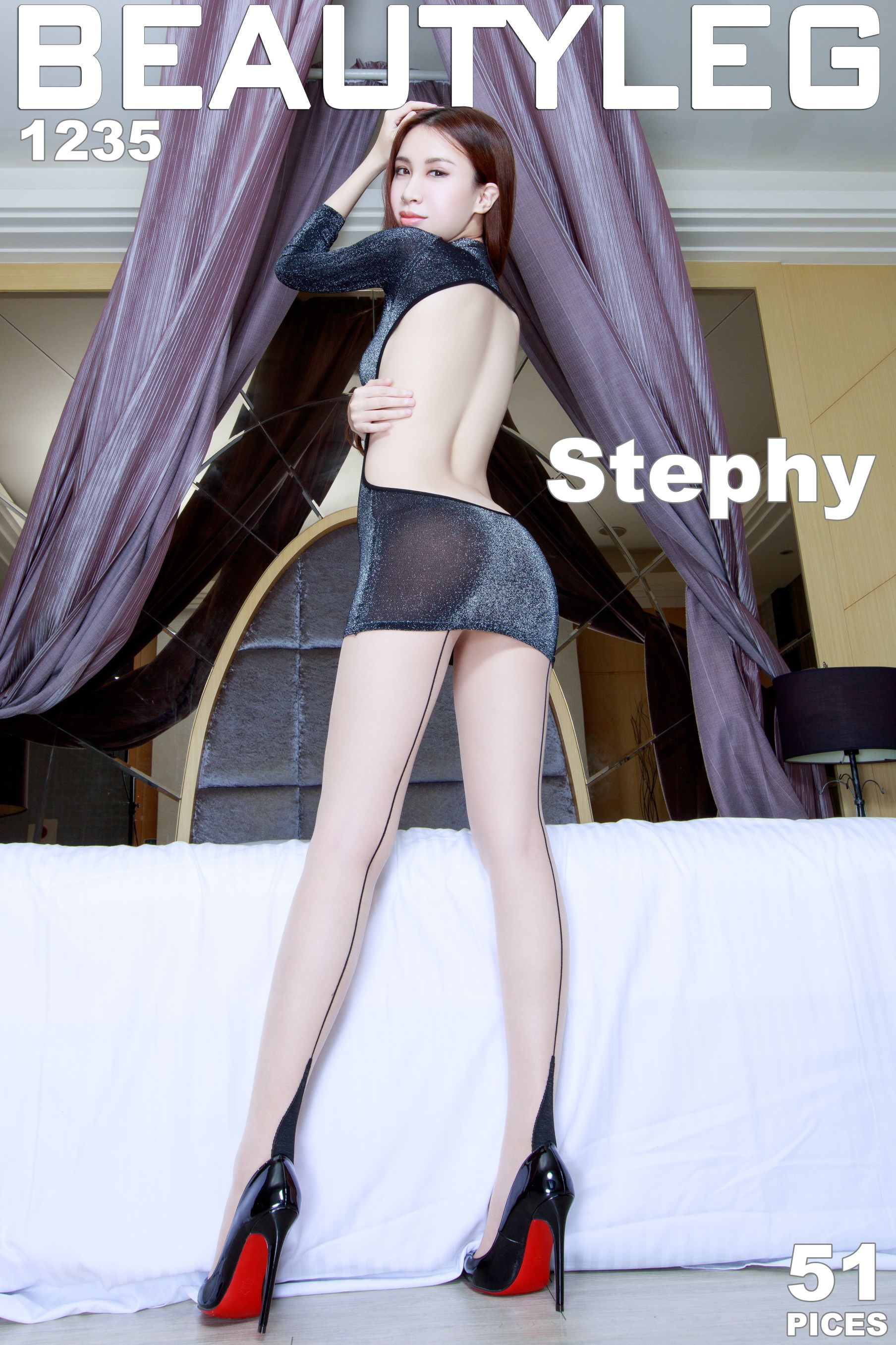 VOL.119 [Beautyleg]美腿:崔多朵(崔德蓉,腿模Stephy)高品质写真套图(51P)