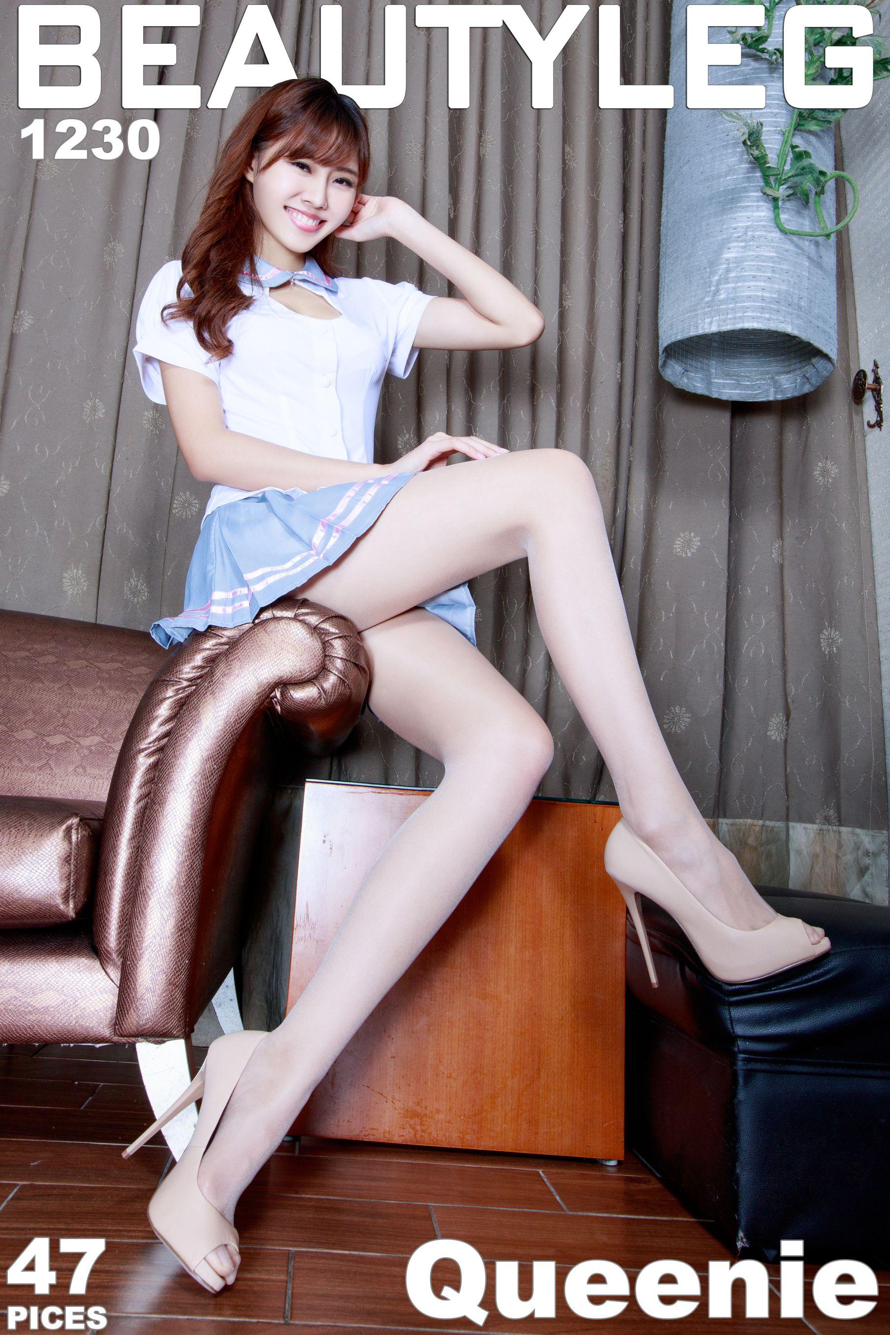VOL.1504 [Beautyleg]校服长腿美女:郭珉妏(腿模Queenie)高品质写真套图(42P)