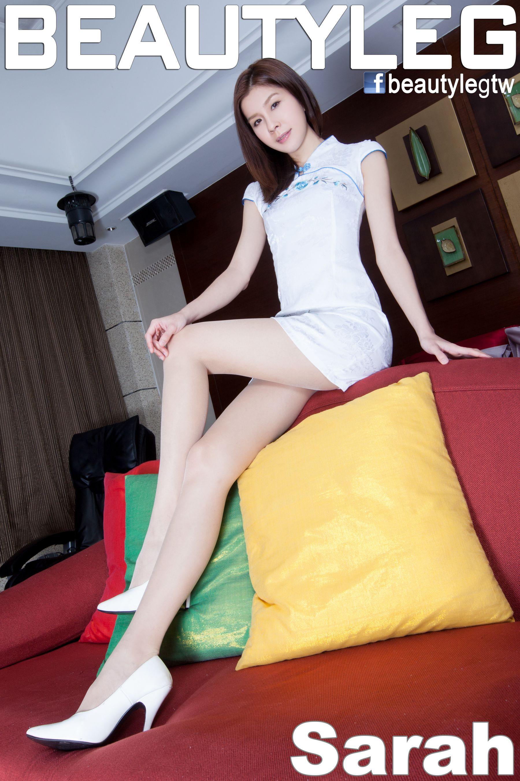 VOL.1737 [Beautyleg]旗袍长腿美女:腿模Sarah高品质写真套图(63P)