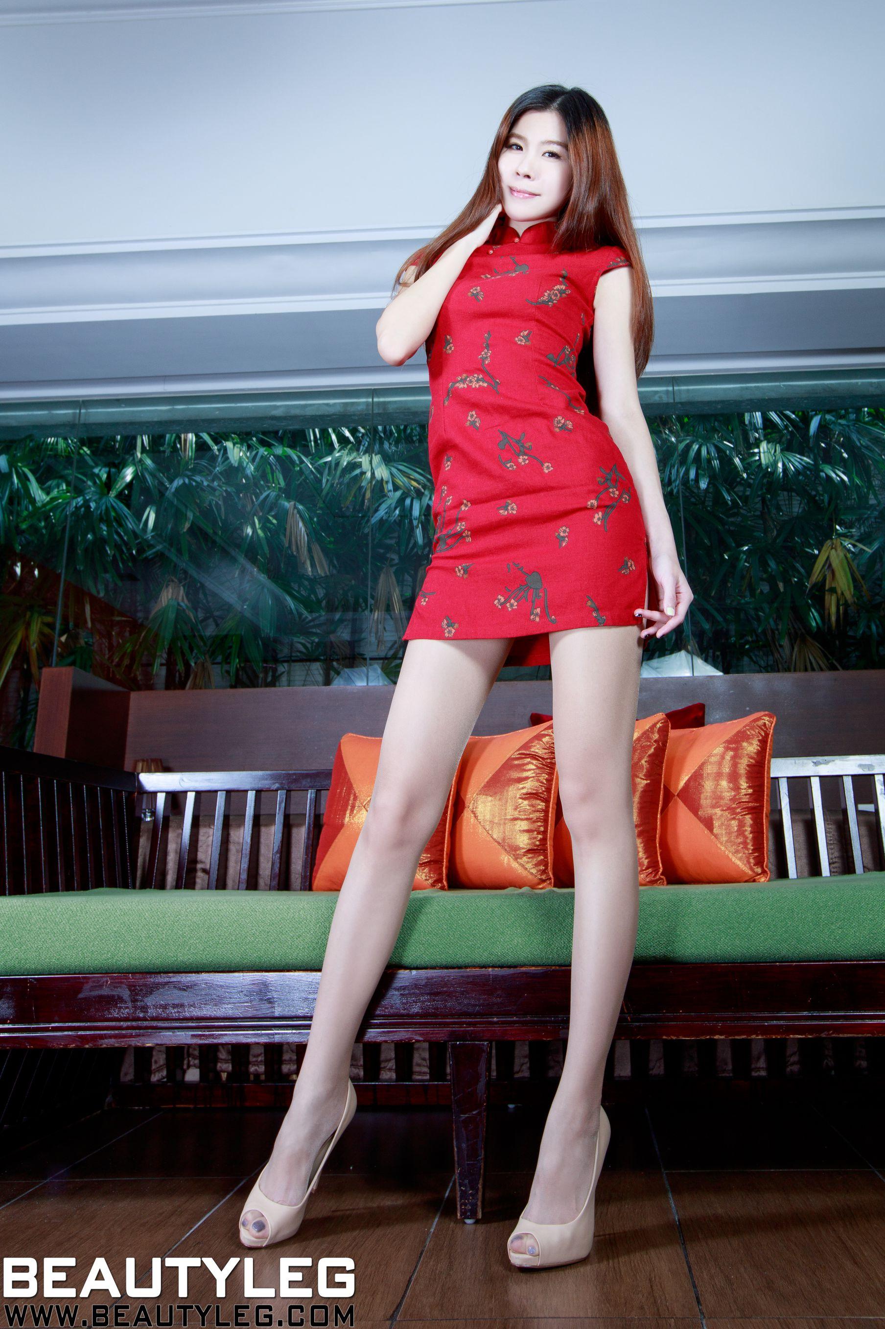VOL.1200 [Beautyleg]包臀裙美女长腿美女:腿模Sarah高品质写真套图(46P)