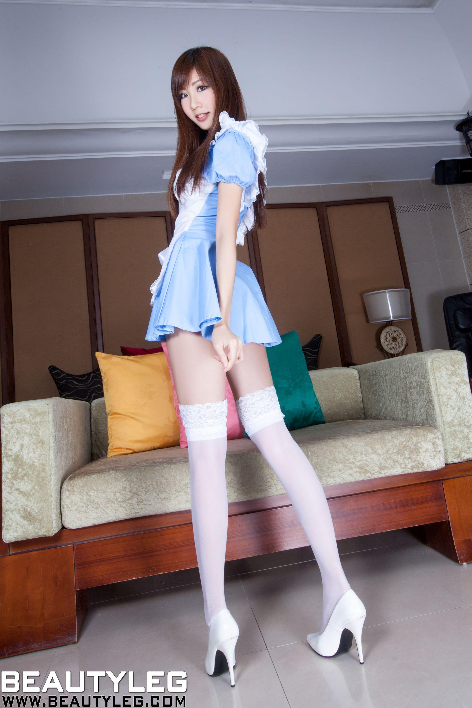VOL.908 [Beautyleg]女仆制服美腿:张雅筑(腿模Chu,张小筑)高品质写真套图(40P)