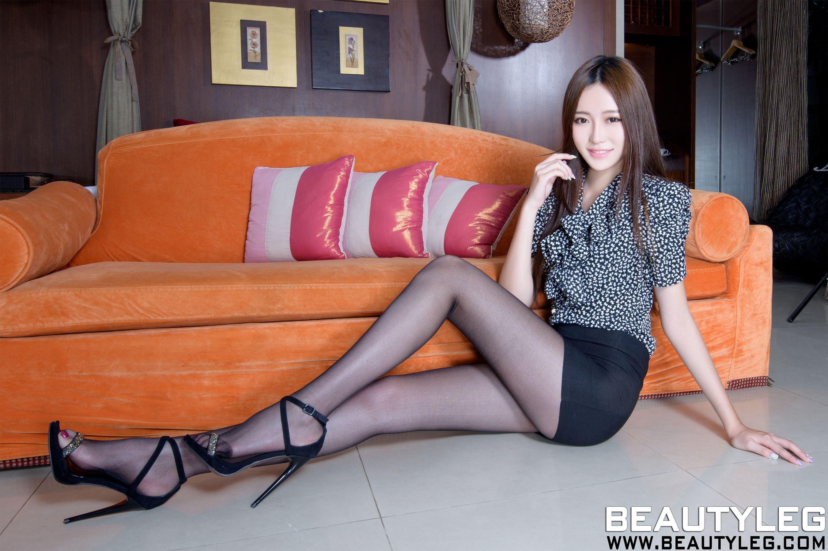 VOL.1681 [Beautyleg]丝袜美腿黑丝高跟:张采宁(腿模Ning)高品质写真套图(58P)
