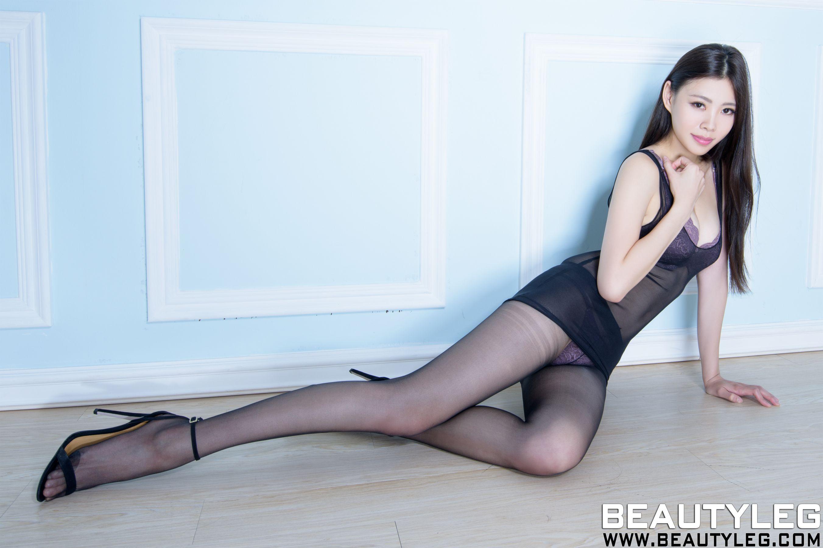 VOL.81 [Beautyleg]内衣美女高跟美腿:腿模Zoey(Zoey)高品质写真套图(47P)
