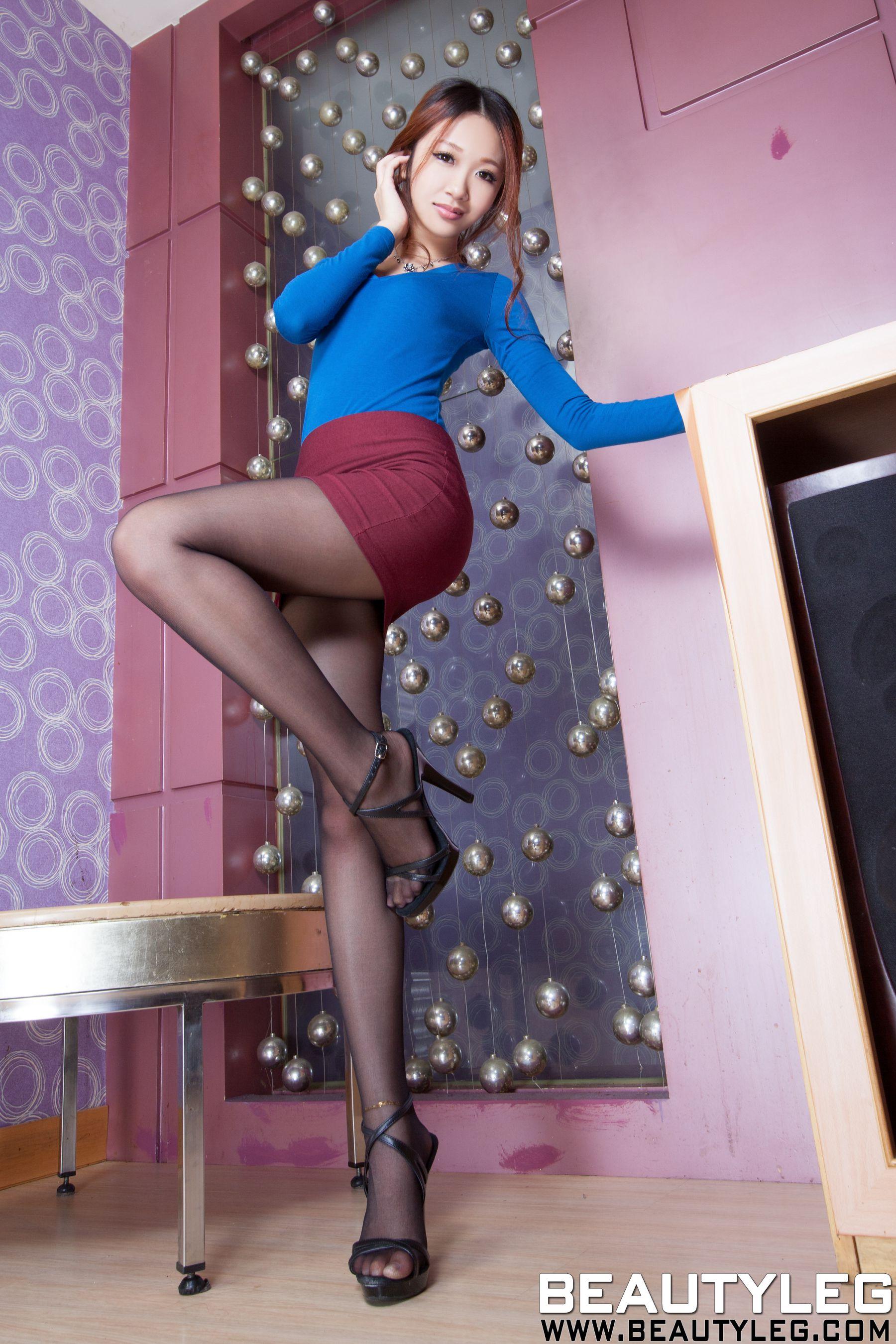 VOL.459 [Beautyleg]美腿丝袜制服:沐雨柔(腿模Susan)高品质写真套图(58P)