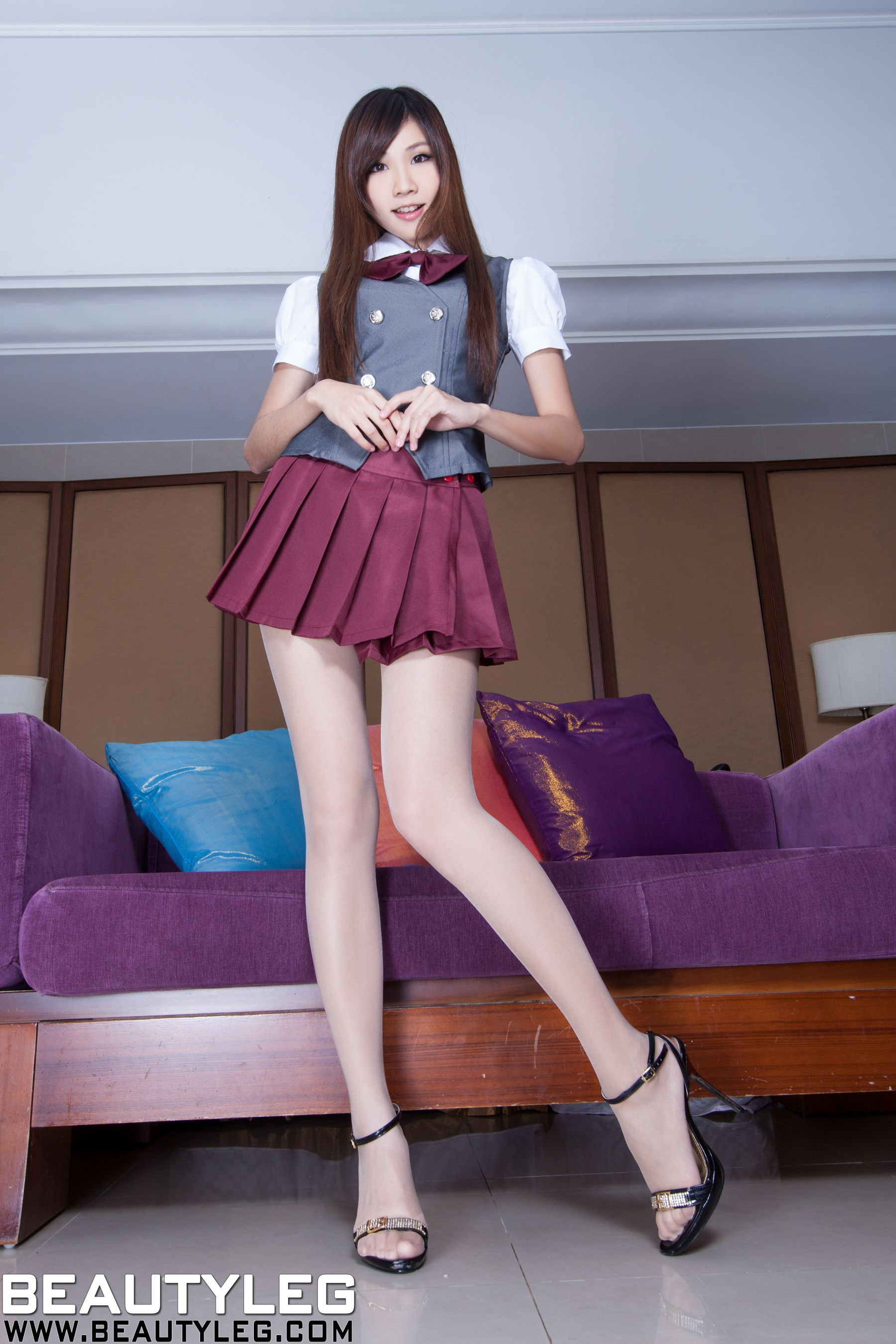 VOL.383 [Beautyleg]美腿:张雅筑(腿模Chu,张小筑)高品质写真套图(47P)