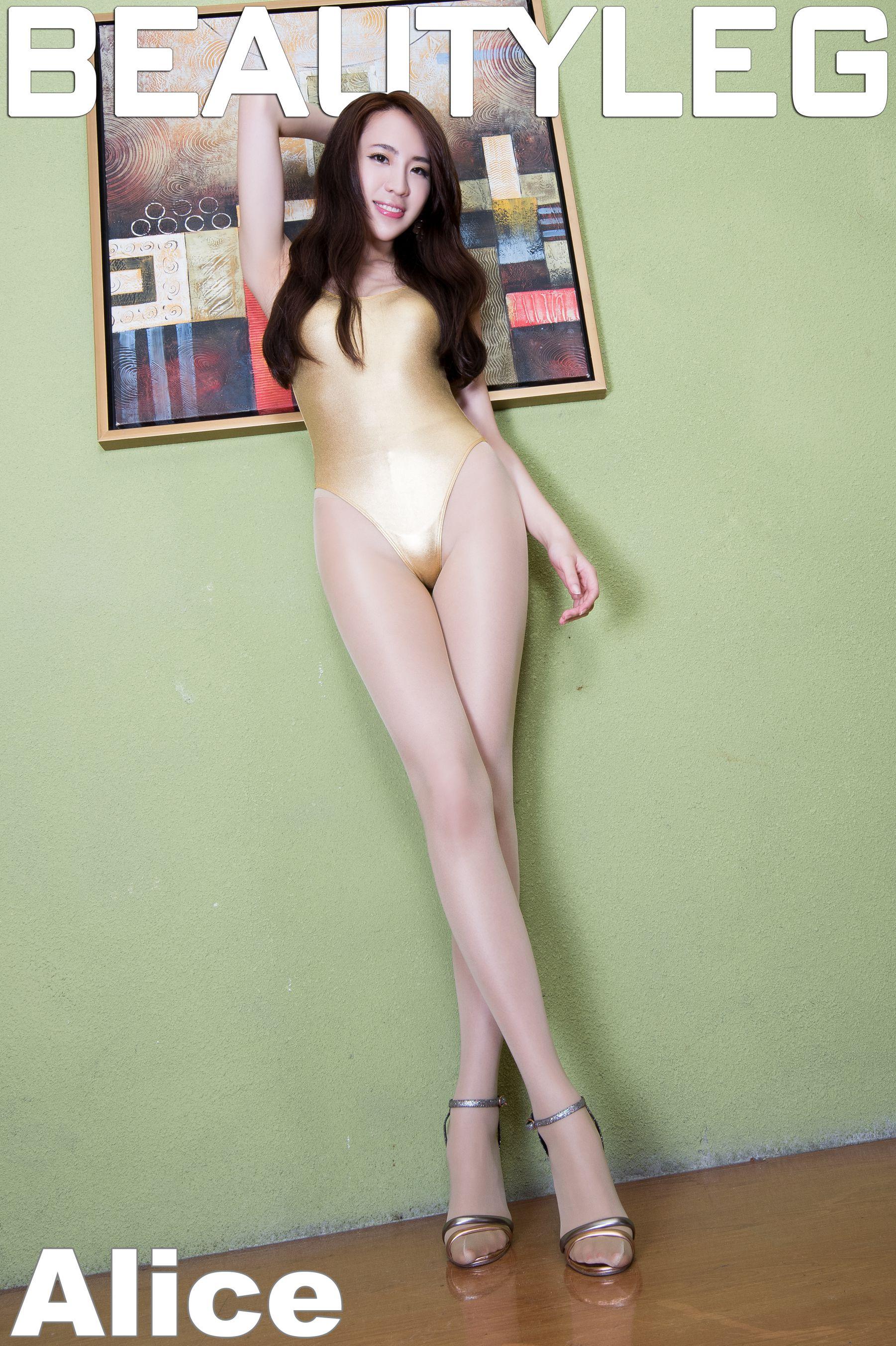 VOL.303 [Beautyleg]美腿B罩杯美女:廖羽涵(腿模Alice)高品质写真套图(55P)