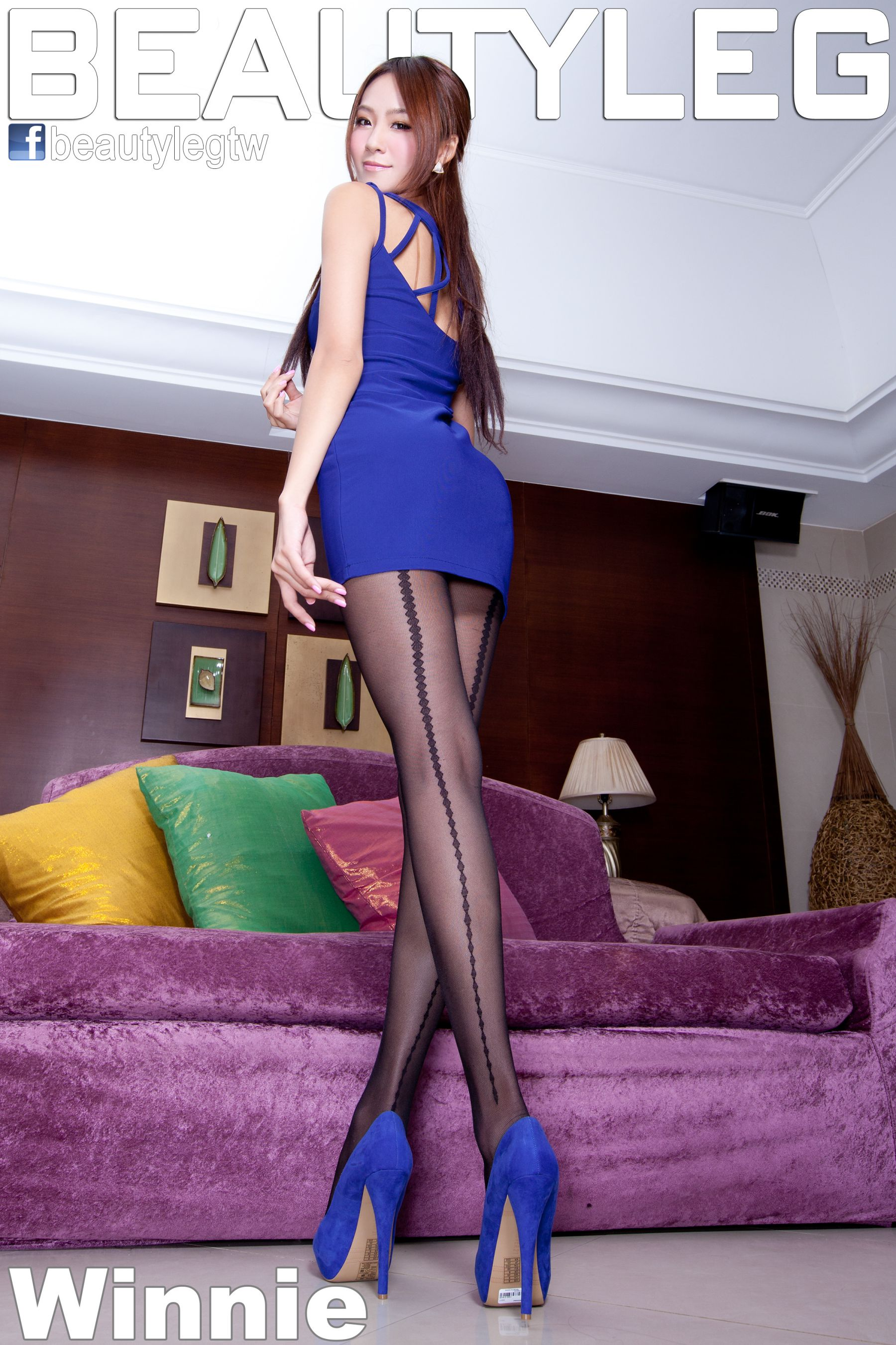 VOL.1242 [Beautyleg]丝袜美腿黑丝包臀裙美女:Winnie小雪(庄咏惠,庄温妮,腿模Winnie)高品质写真套图(64P)