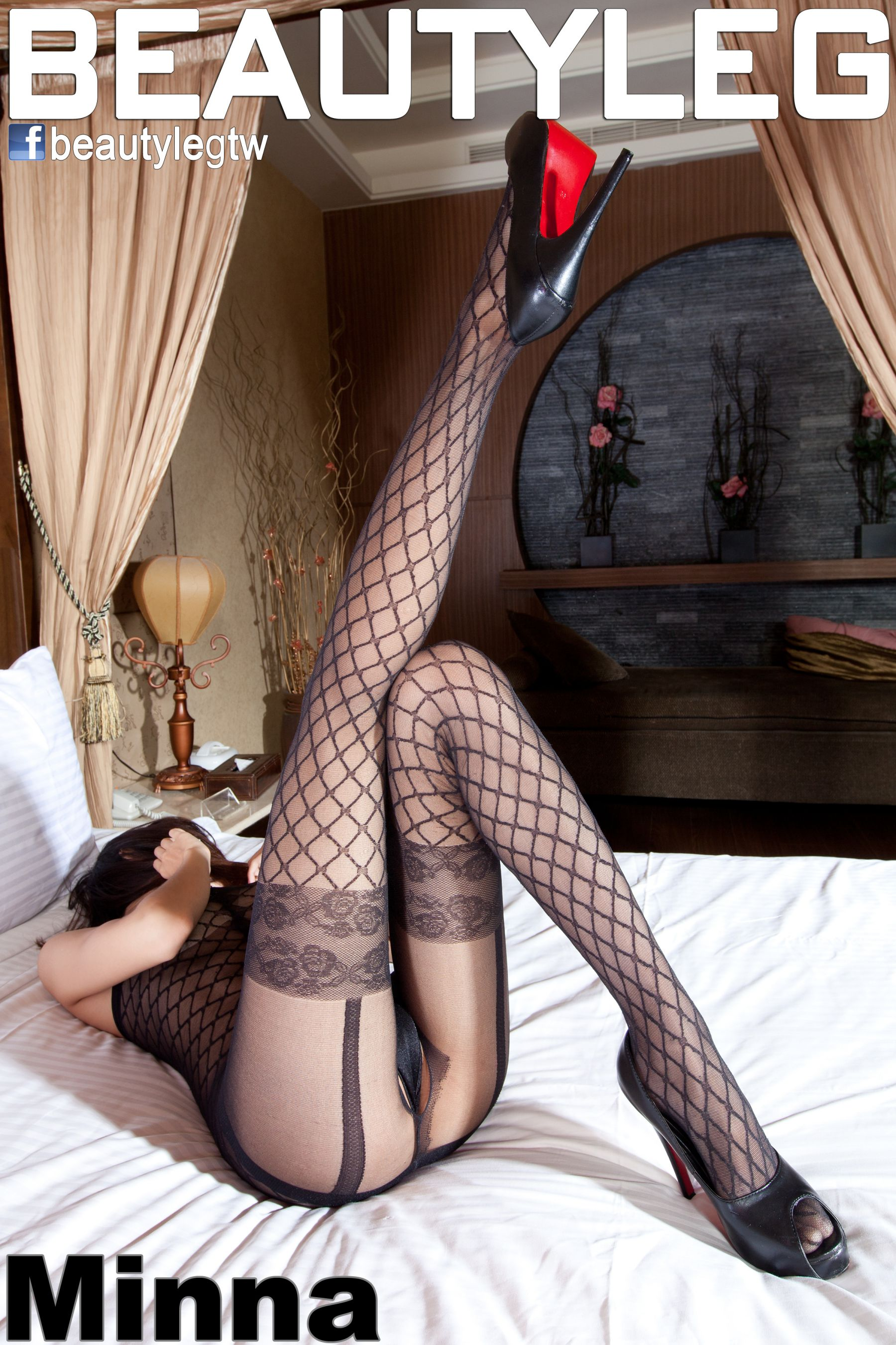 VOL.872 [Beautyleg]美腿情趣内衣情趣丝袜:腿模Minna高品质写真套图(58P)