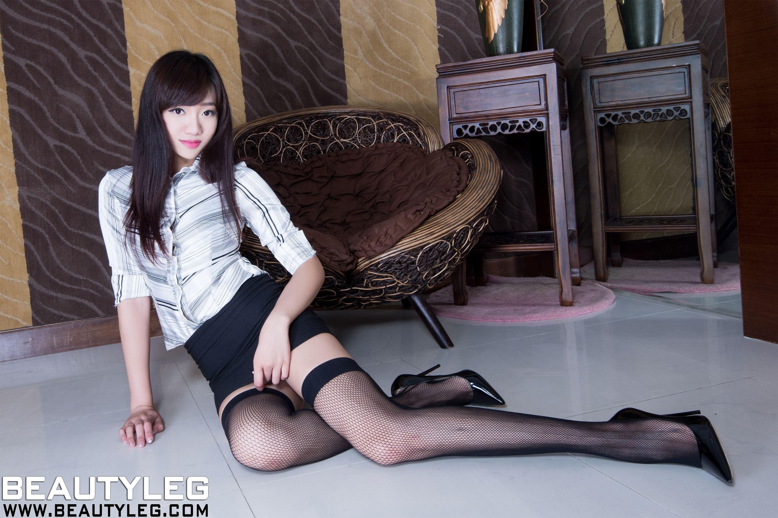 VOL.202 [Beautyleg]美腿网袜丝袜制服:欣洁(腿模Celia)高品质写真套图(46P)
