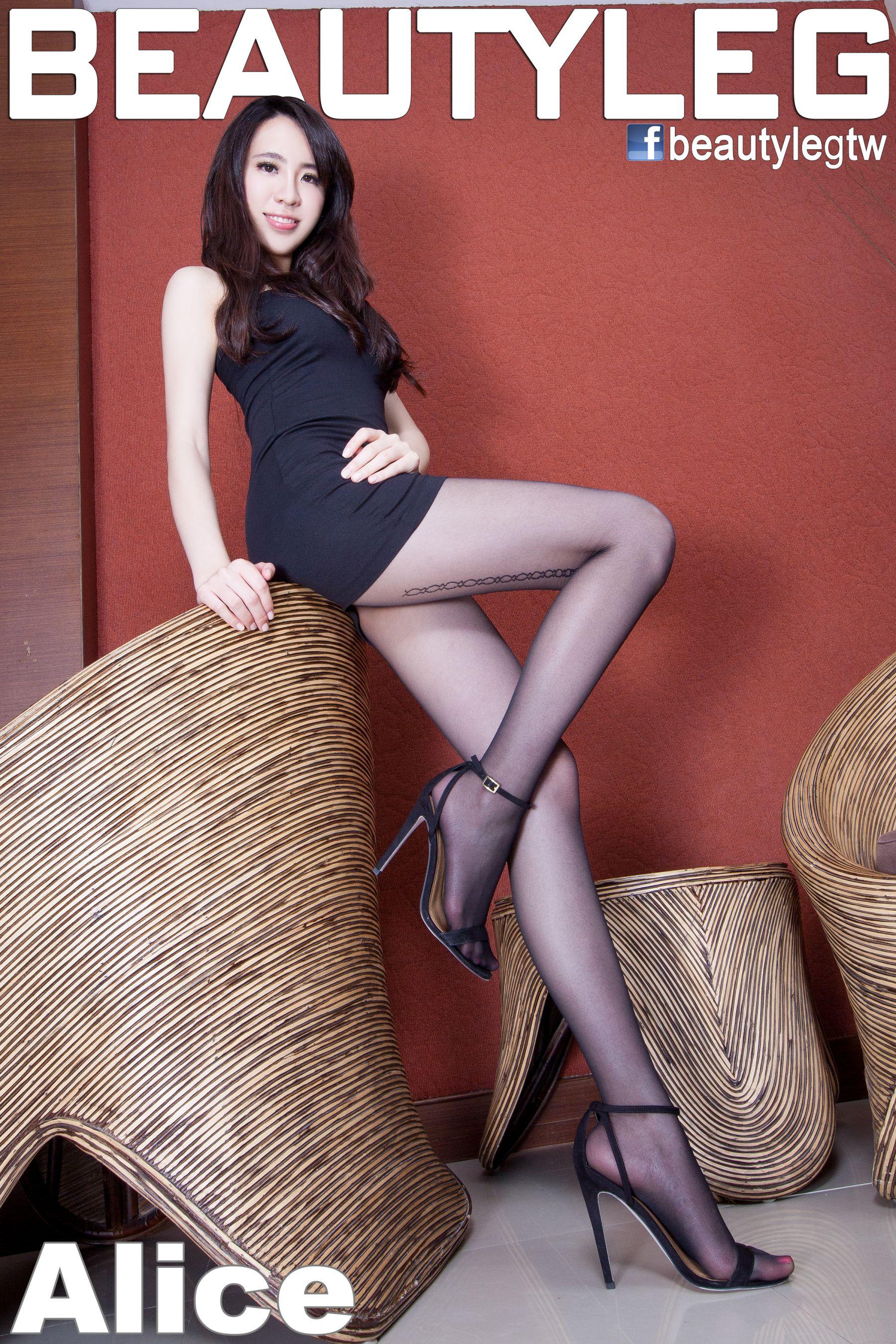 VOL.290 [Beautyleg]美腿黑丝高跟凉鞋:廖羽涵(腿模Alice)高品质写真套图(60P)