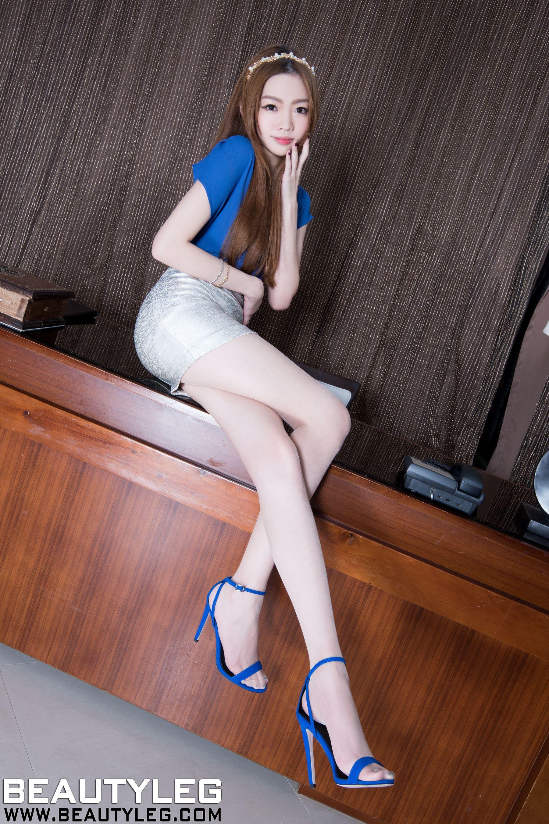 VOL.752 [Beautyleg]美腿:腿模Joanna高品质写真套图(48P)