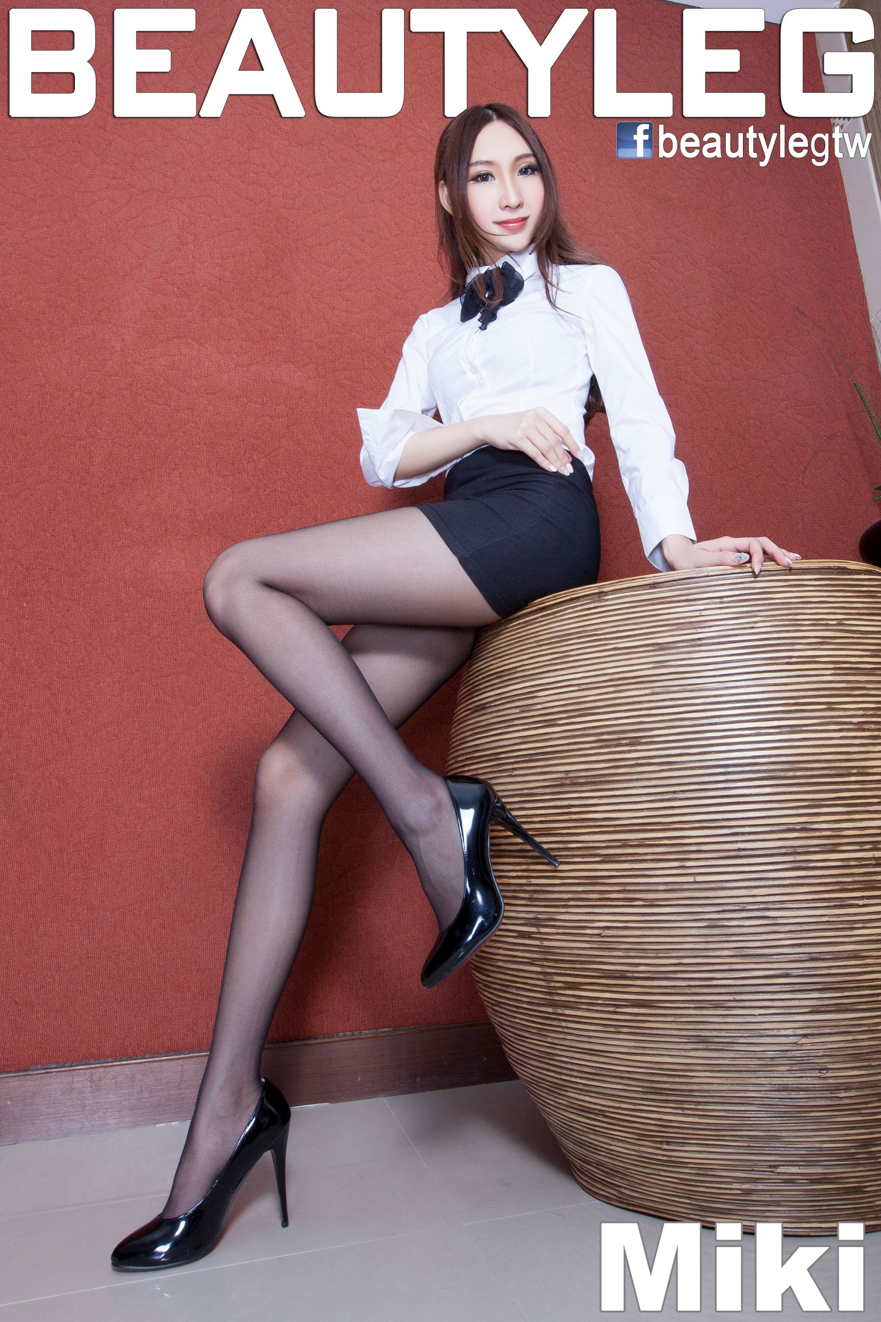 VOL.420 [Beautyleg]制服美腿丝袜制服:吴美希(腿模Miki)高品质写真套图(66P)