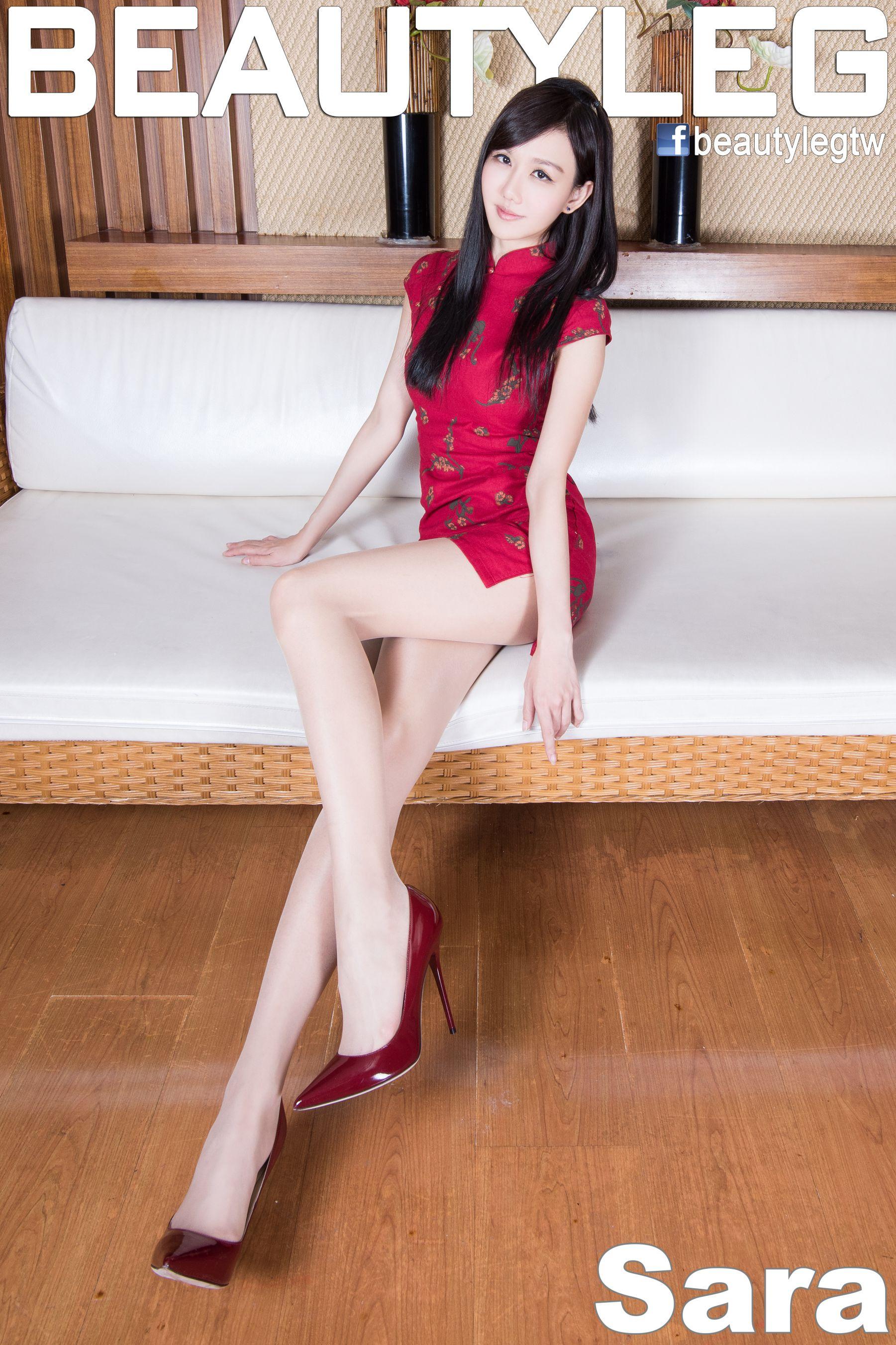 VOL.1172 [Beautyleg]美腿旗袍:林瑞瑜(Beautyleg Sara,腿模Sara)高品质写真套图(58P)