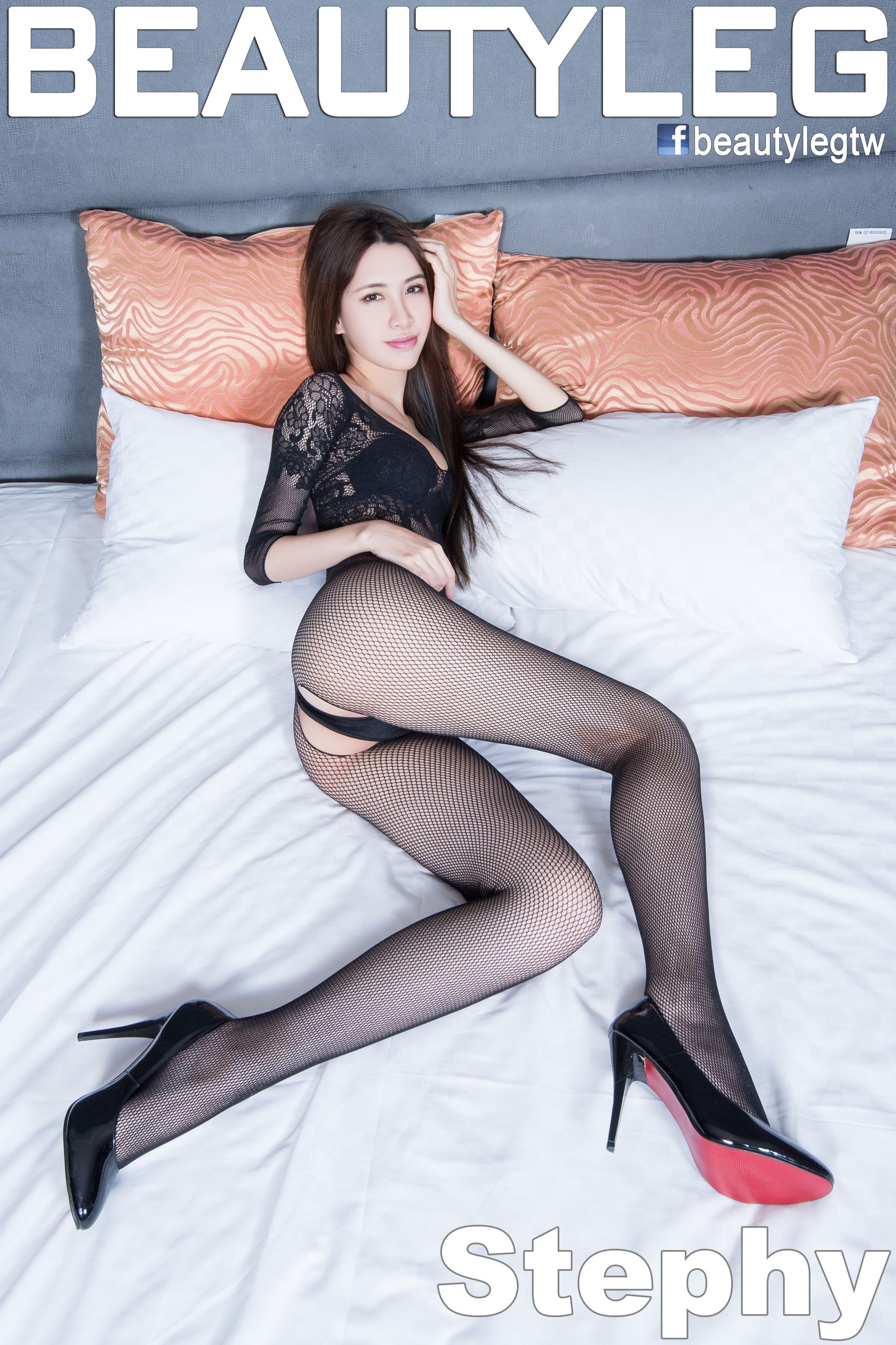 VOL.342 [Beautyleg]美腿情趣丝袜:崔多朵(崔德蓉,腿模Stephy)高品质写真套图(68P)