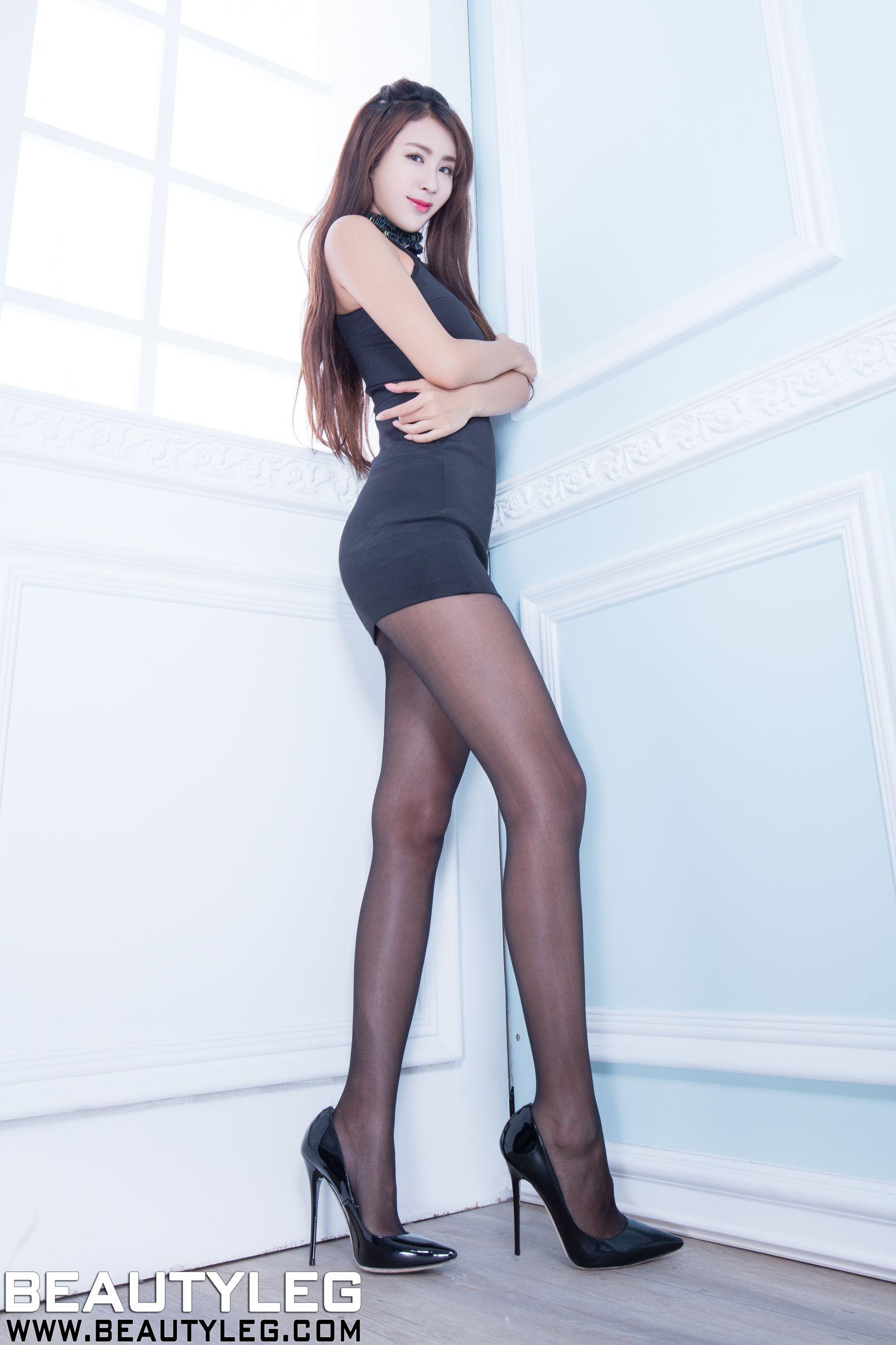 VOL.817 [Beautyleg]美腿黑丝:夏晴(夏晴Miso,腿模Miso)高品质写真套图(43P)
