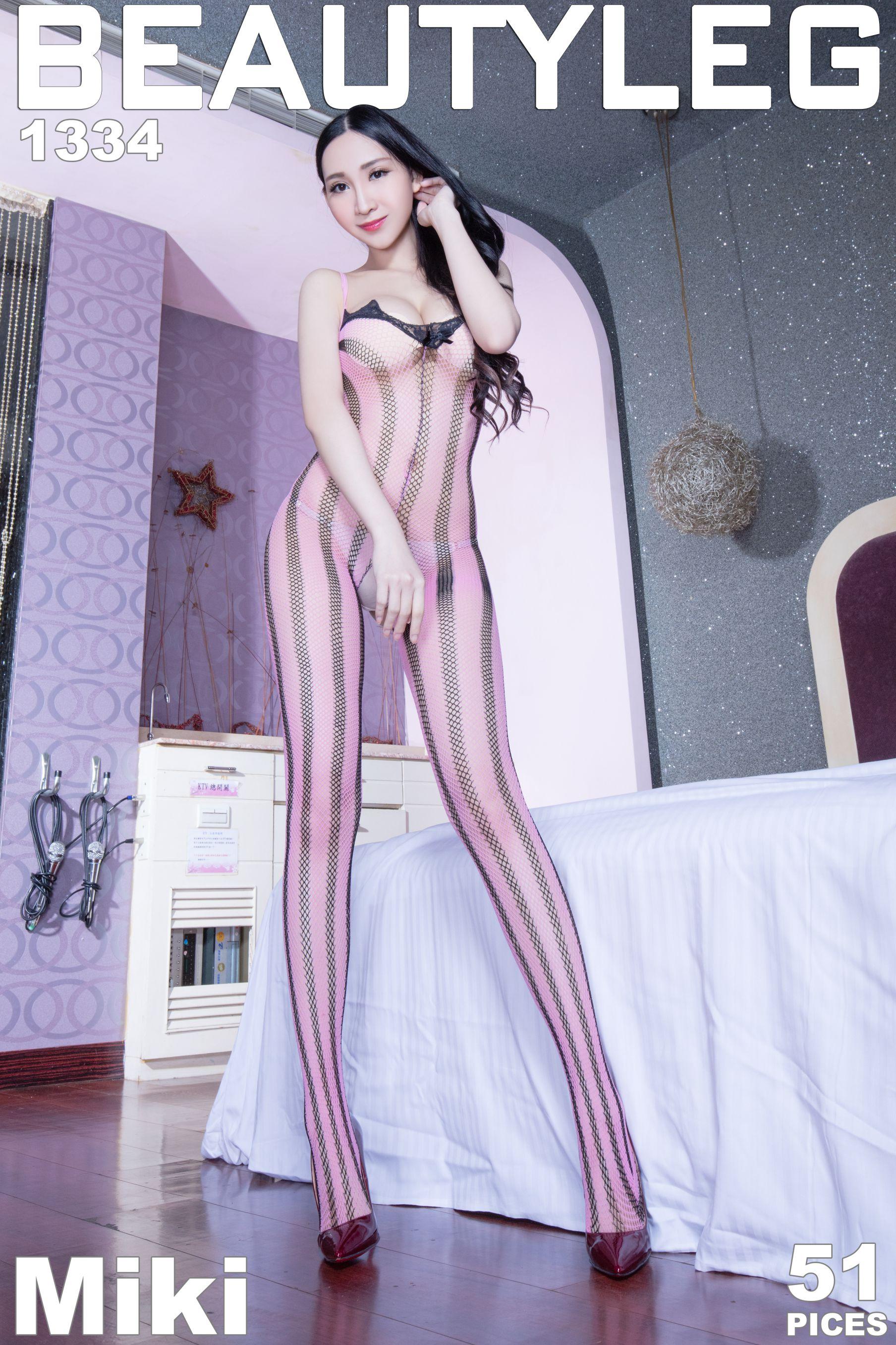 VOL.545 [Beautyleg]红色丝袜情趣丝袜高跟美腿:吴美希(腿模Miki)高品质写真套图(46P)