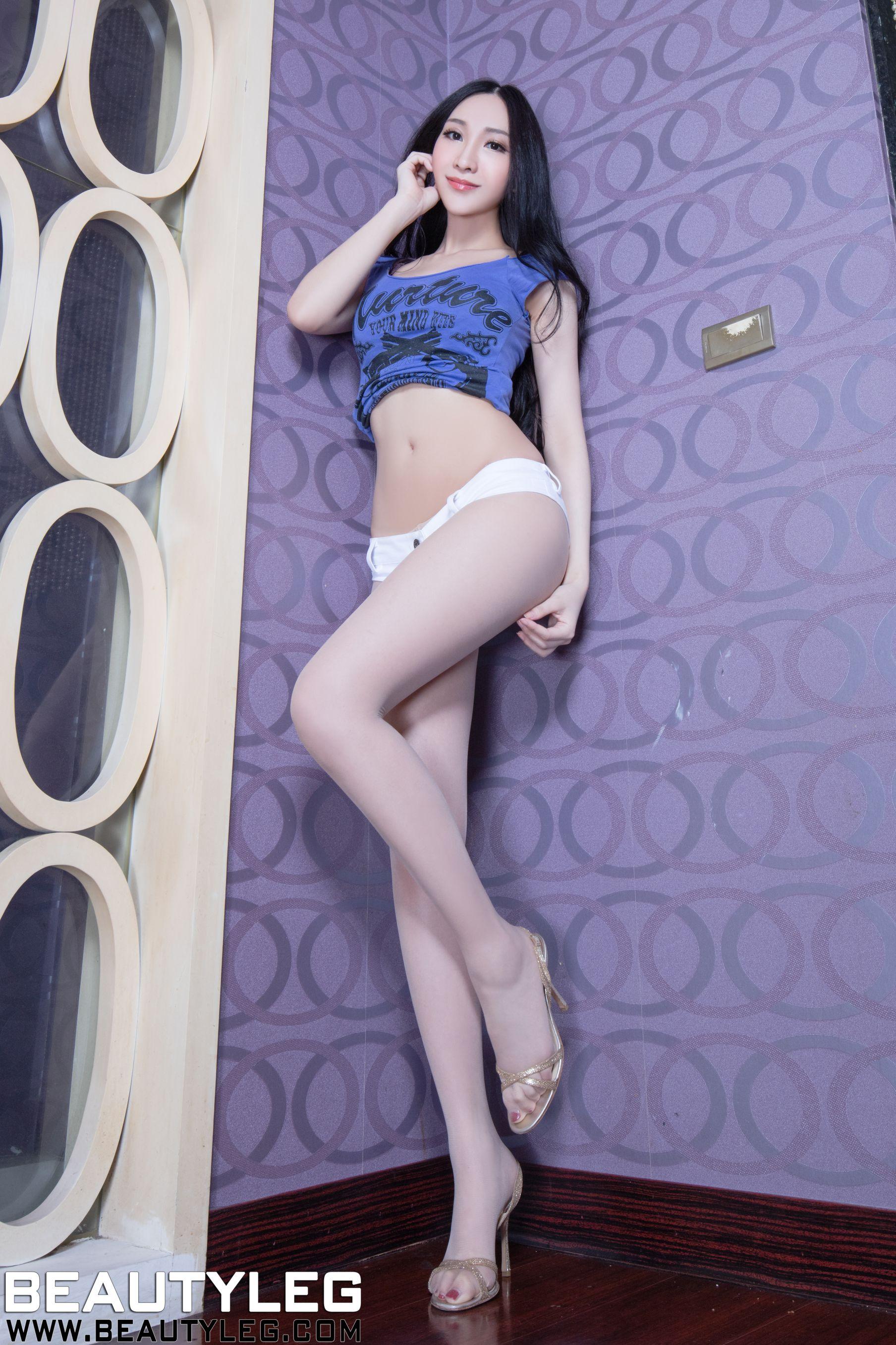 VOL.1205 [Beautyleg]美腿肉丝袜:吴美希(腿模Miki)高品质写真套图(50P)