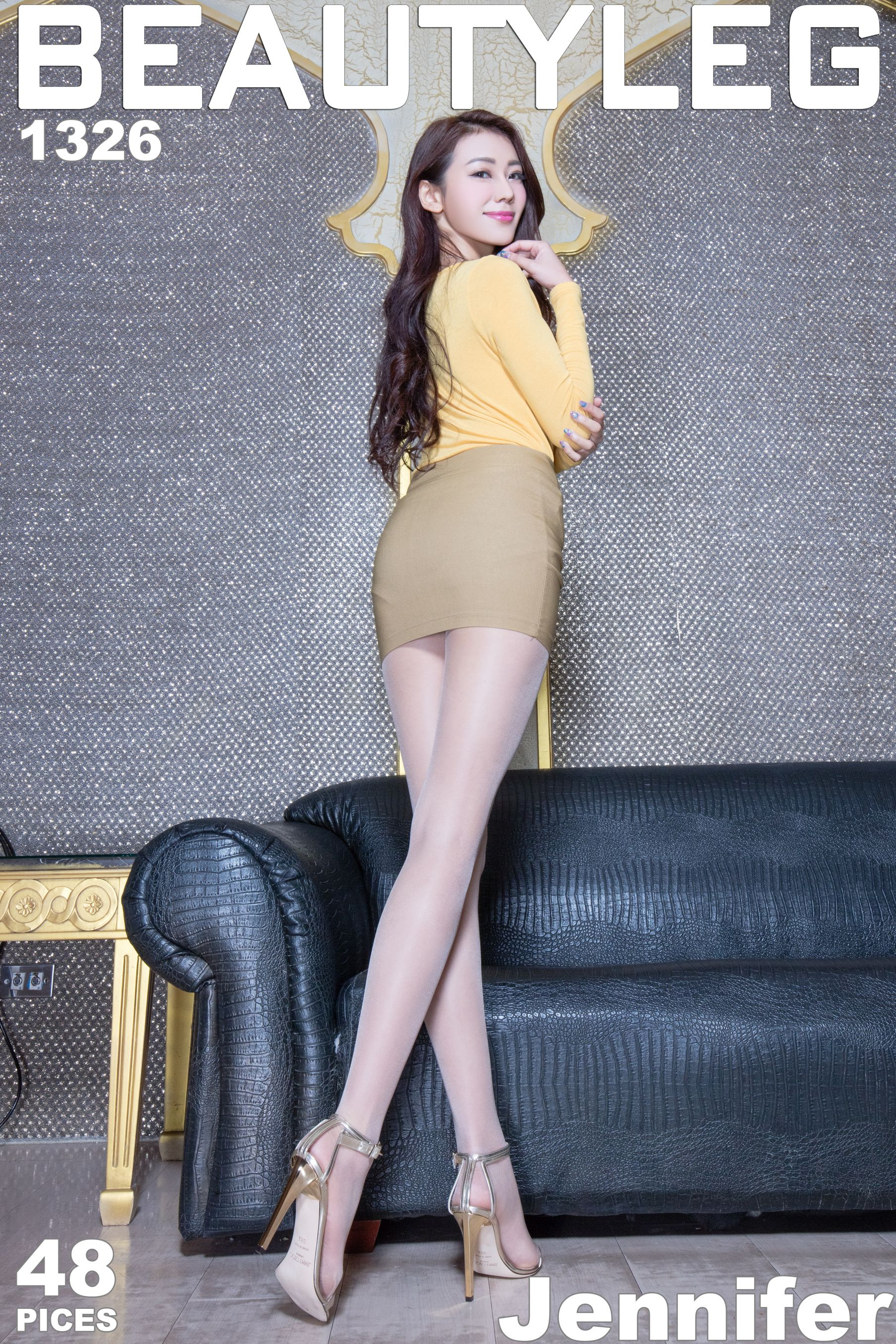 VOL.226 [Beautyleg]高跟美腿:钱洪琳(腿模Jennifer)高品质写真套图(43P)