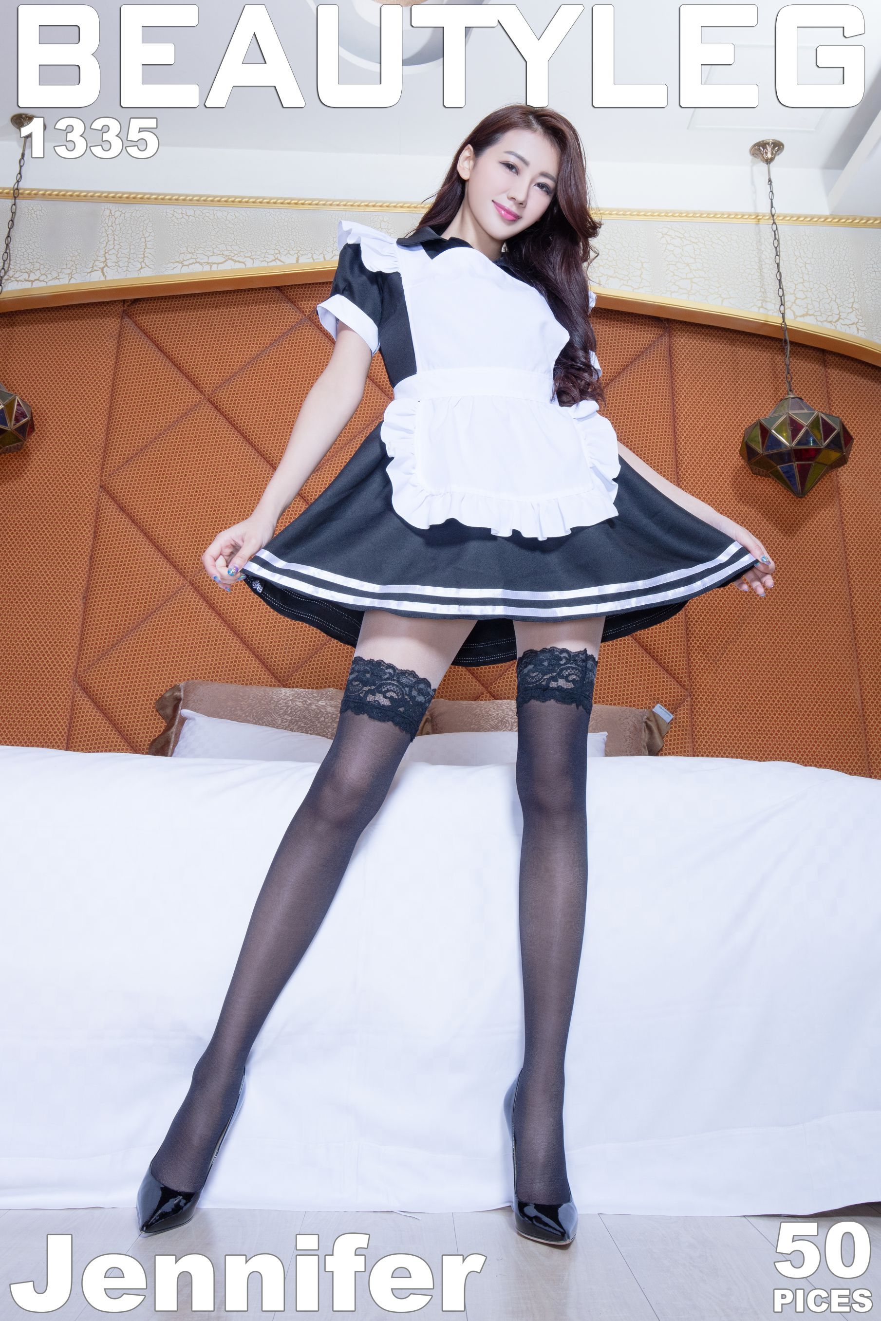 VOL.1621 [Beautyleg]美腿:钱洪琳(腿模Jennifer)高品质写真套图(45P)
