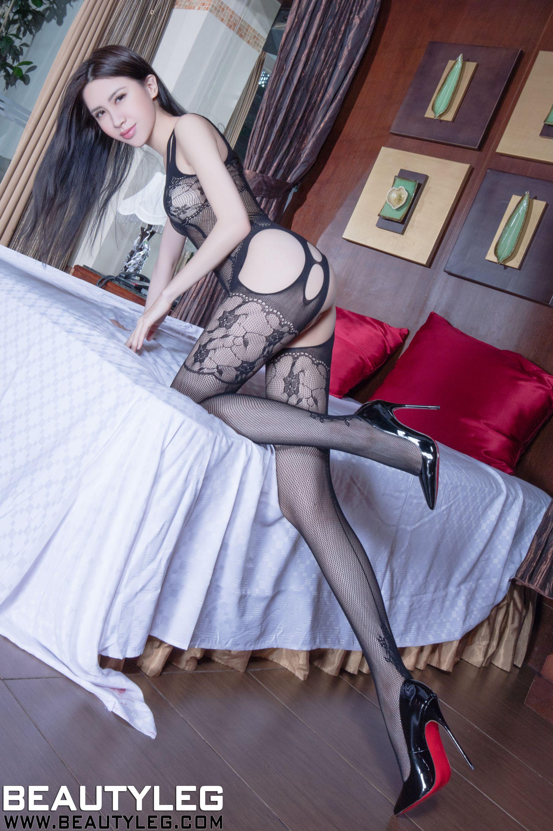 VOL.762 [Beautyleg]美腿灰丝:崔多朵(崔德蓉,腿模Stephy)高品质写真套图(41P)