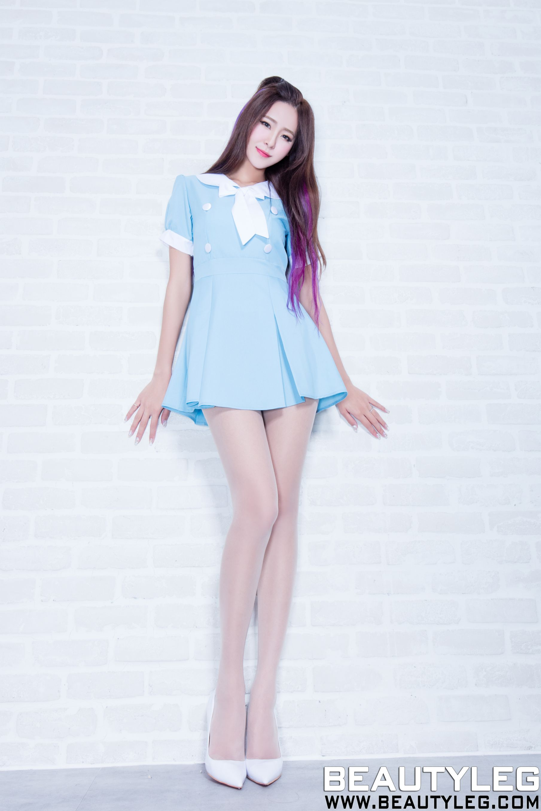 VOL.157 [Beautyleg]美腿豹纹美女长发美女:Winnie小雪(庄咏惠,庄温妮,腿模Winnie)高品质写真套图(54P)