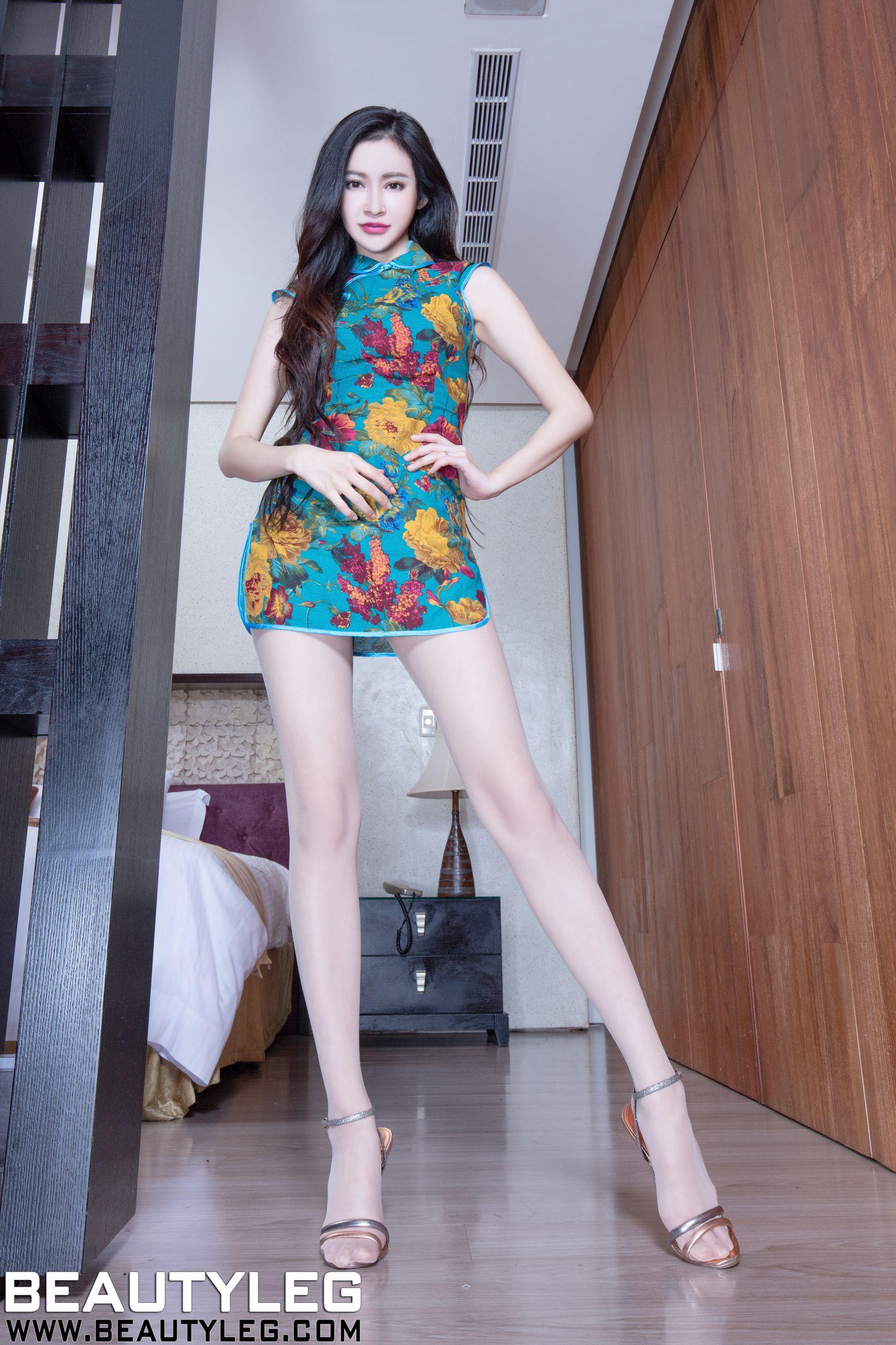 VOL.1293 [Beautyleg]肉丝袜高跟美腿:詹艾葳(腿模Avril,腿模Arvil)高品质写真套图(66P)