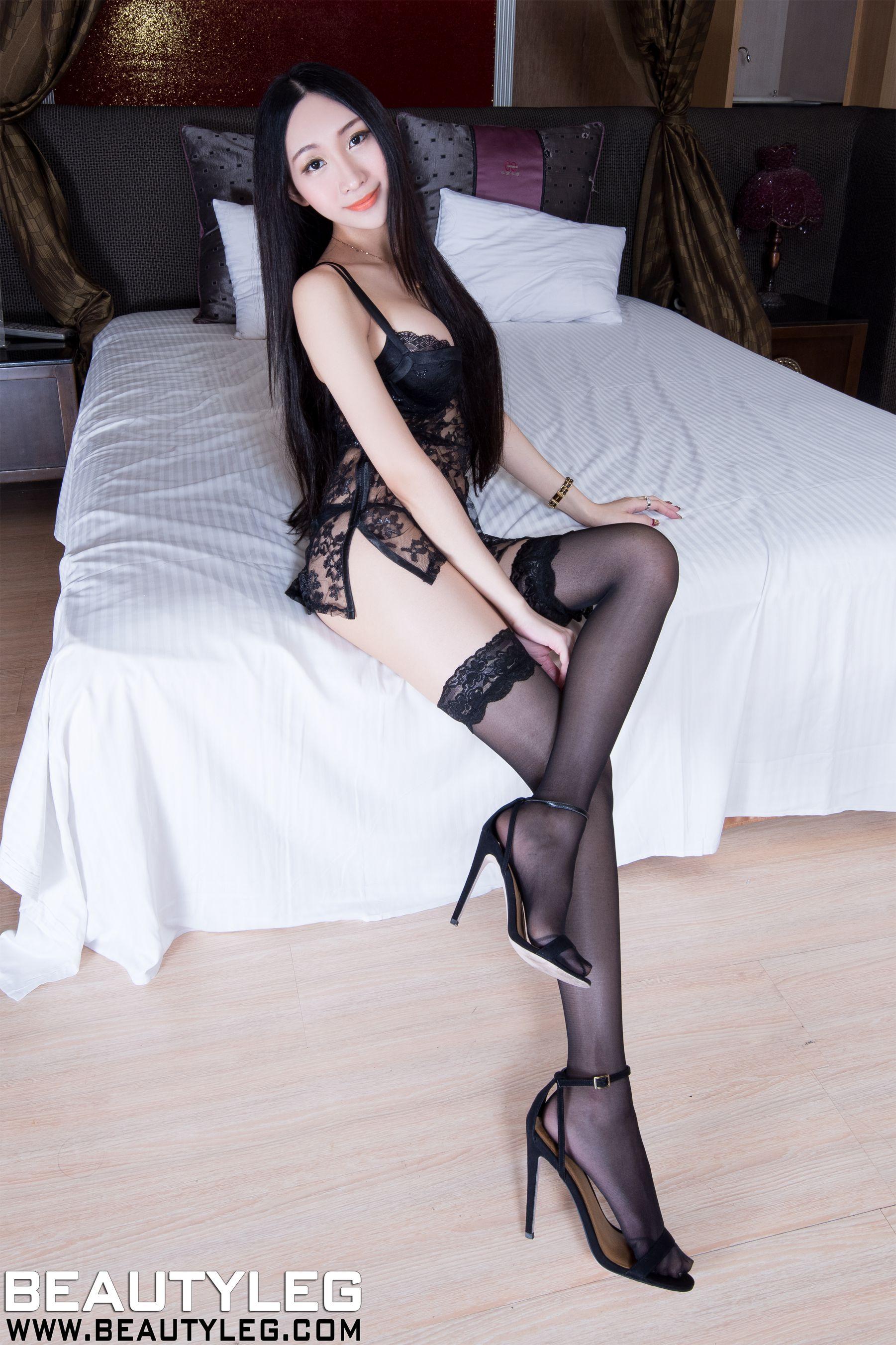 VOL.1132 [Beautyleg]美腿内衣美女白丝:吴美希(腿模Miki)高品质写真套图(64P)
