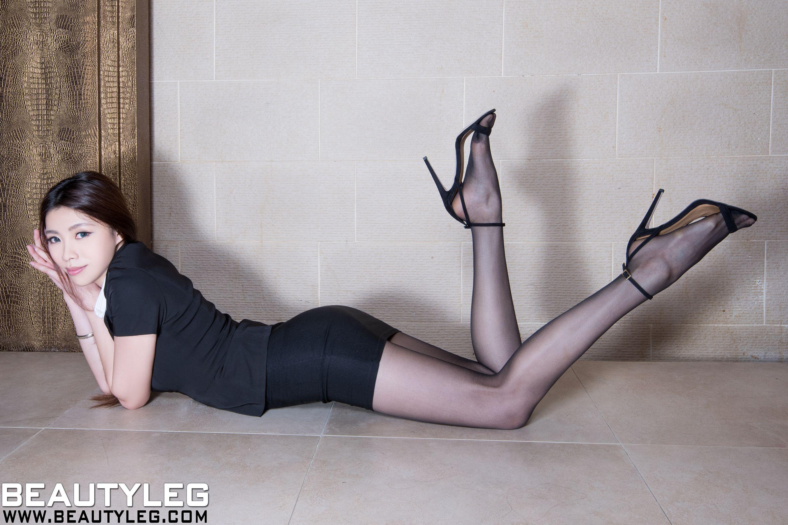 VOL.887 [Beautyleg]美腿高跟凉鞋:腿模Zoey(Zoey)高品质写真套图(40P)
