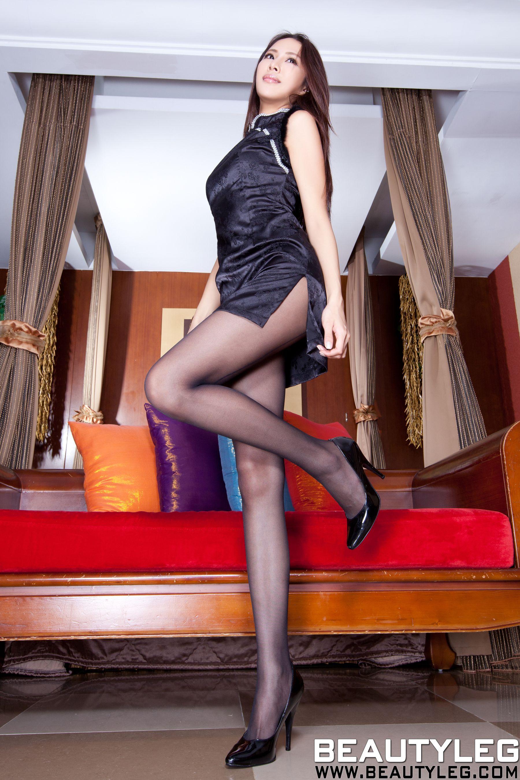 VOL.872 [Beautyleg]美腿旗袍:腿模Lorraine高品质写真套图(64P)