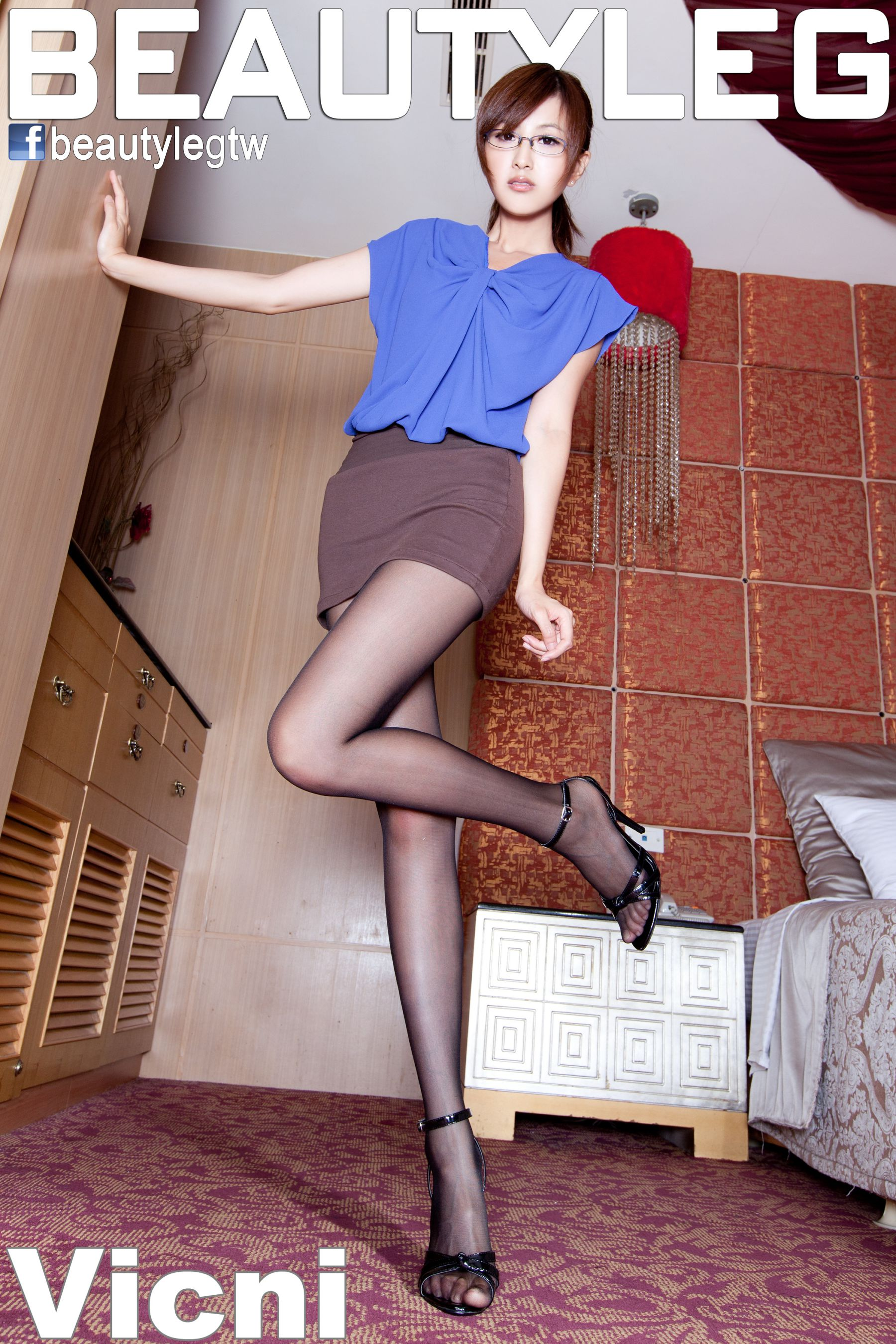 VOL.378 [Beautyleg]高跟美腿:简晓育(腿模Vicni,晓育儿)高品质写真套图(41P)