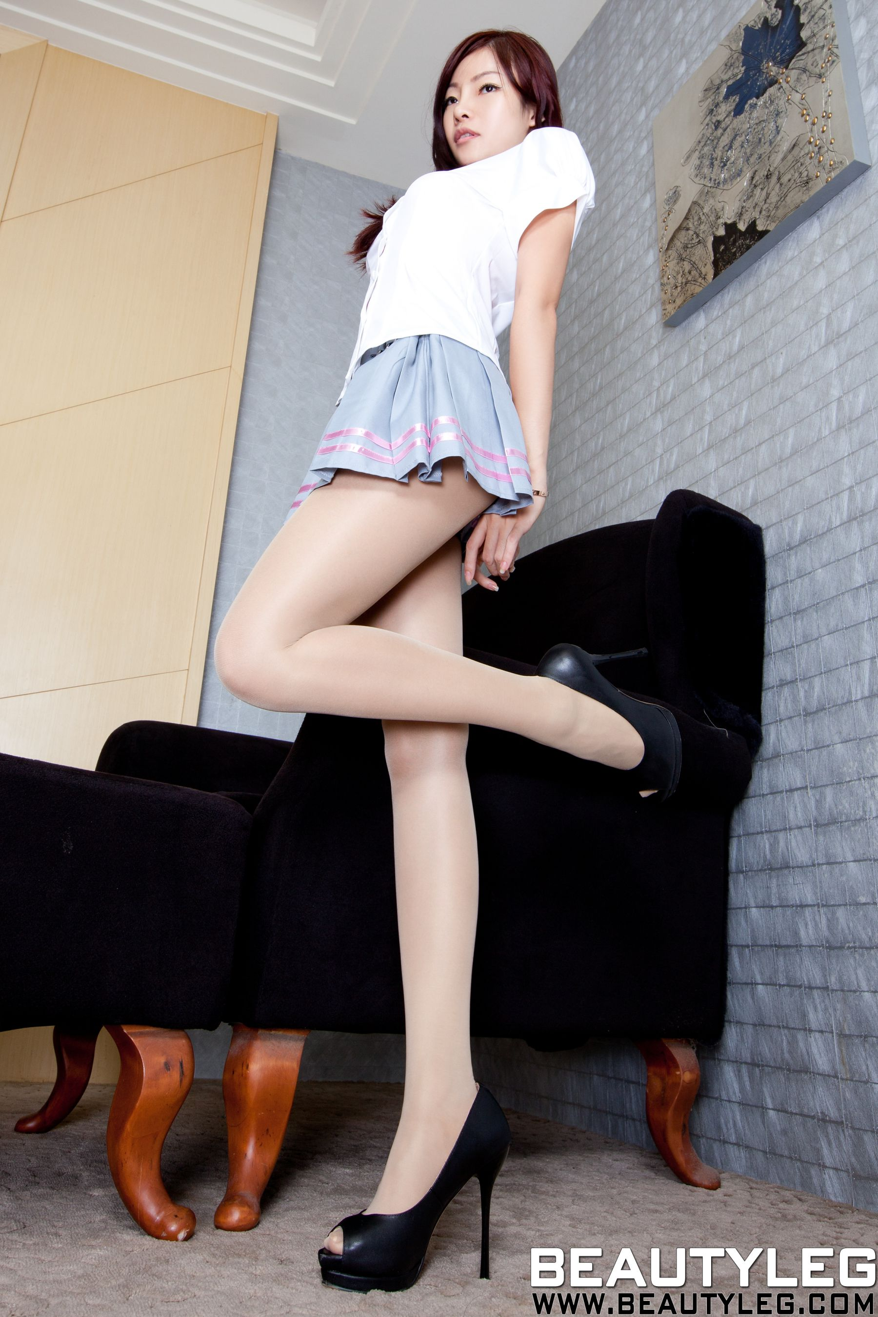 VOL.1520 [Beautyleg]美腿:腿模Sabrina高品质写真套图(49P)