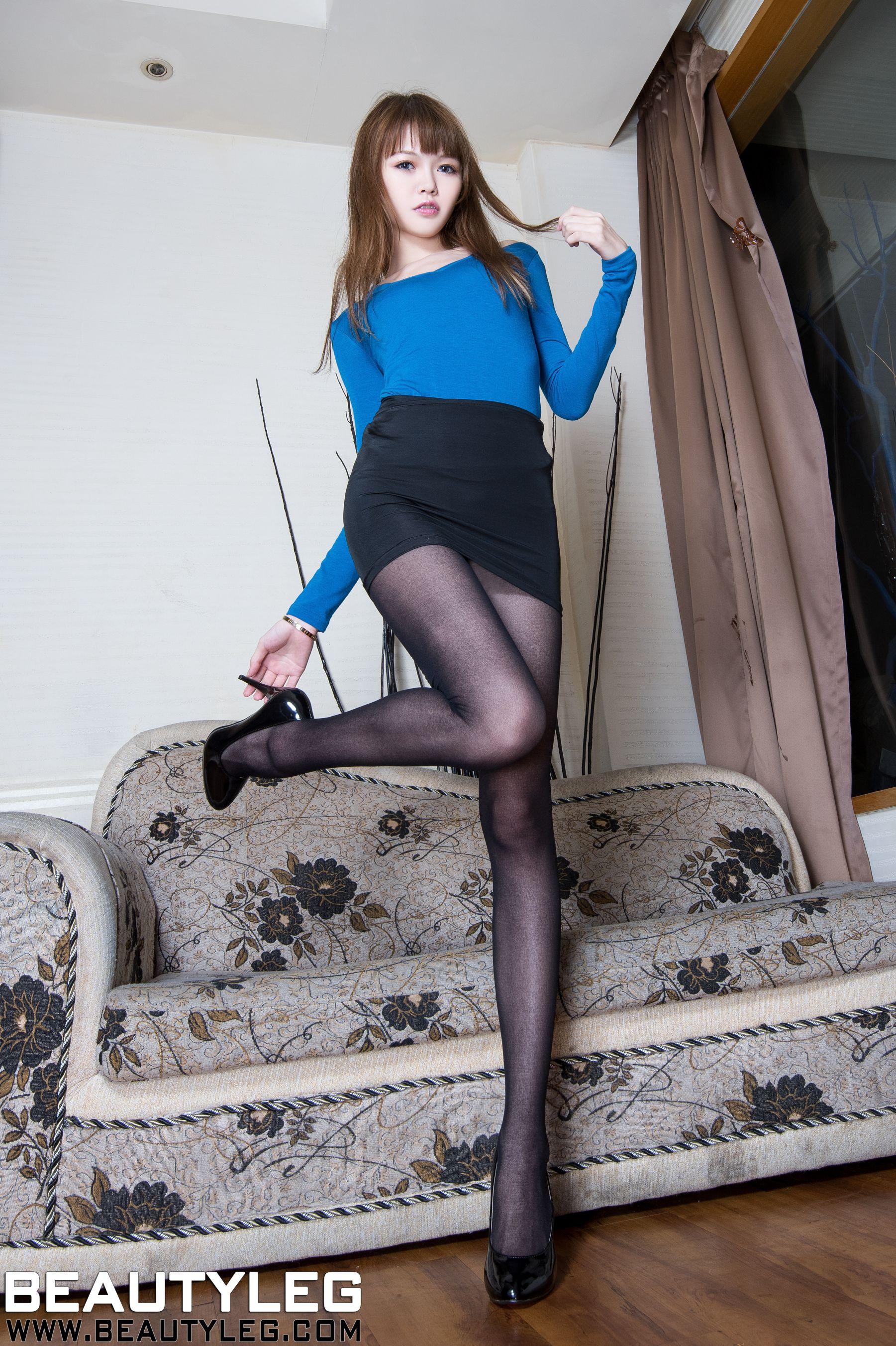 VOL.821 [Beautyleg]美腿高跟凉鞋:腿模Sammi高品质写真套图(57P)